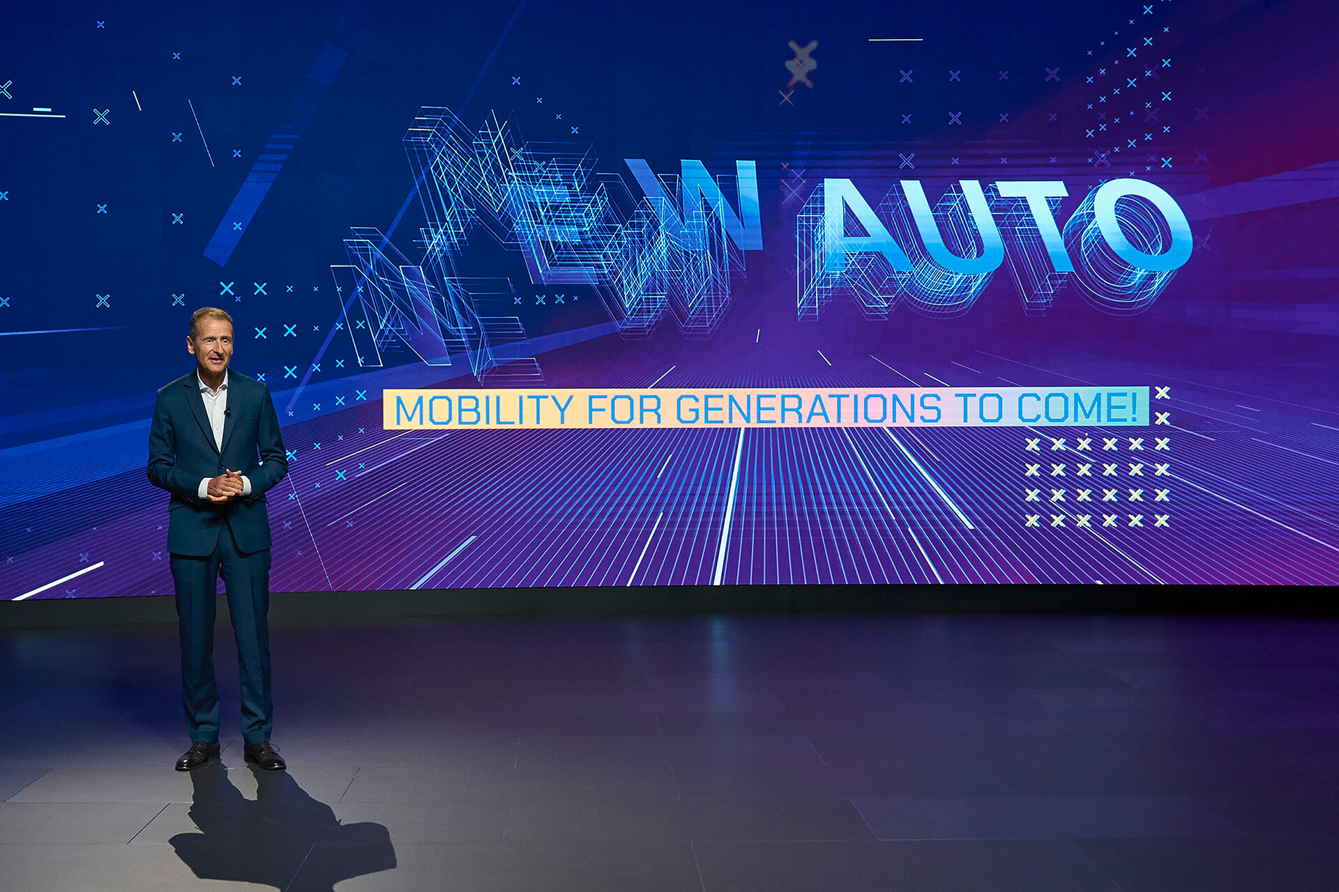 NEW AUTO STRATEGY - CEO HERBERT DIESS