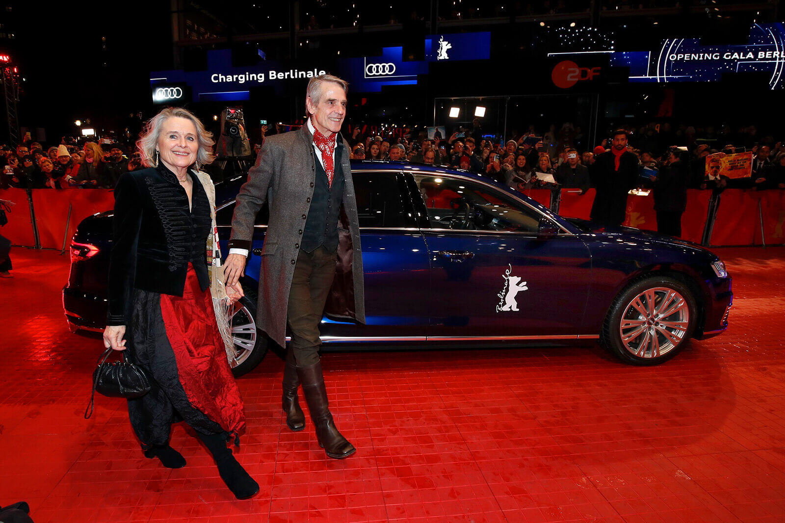 Τζέρεμι Άιρονς - H Audi στην 70η Berlinale