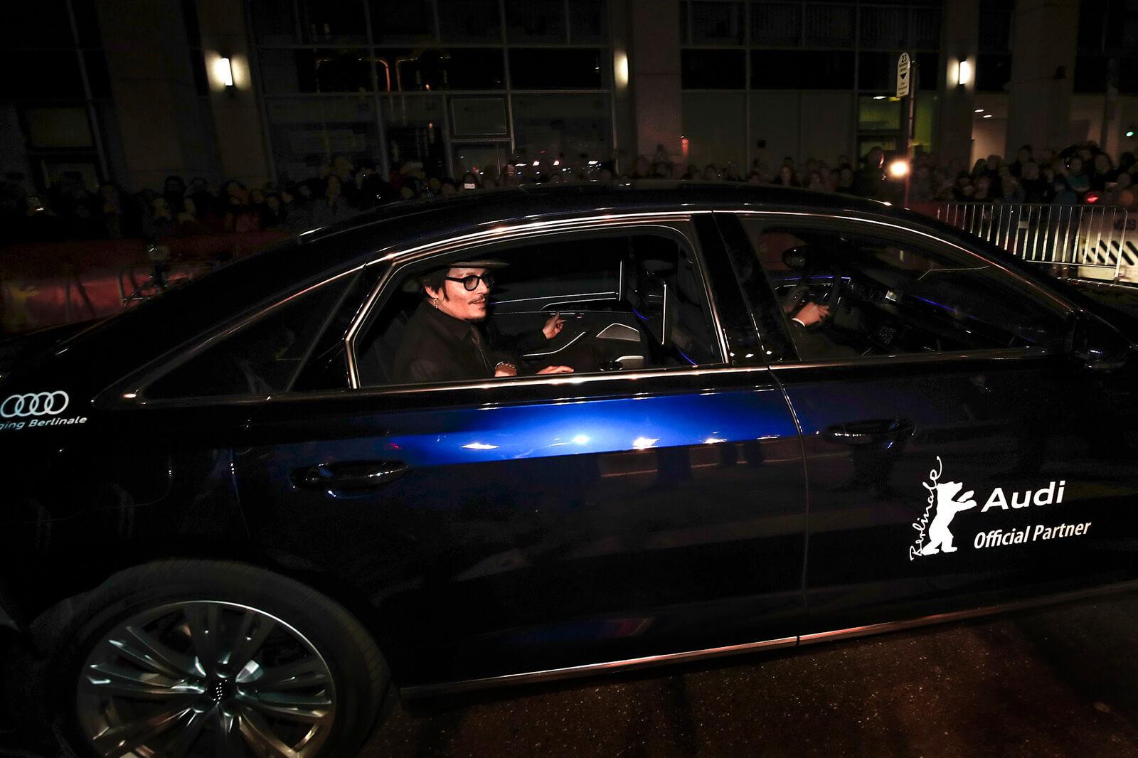 Τζόνι Ντεπ - H Audi στην 70η Berlinale