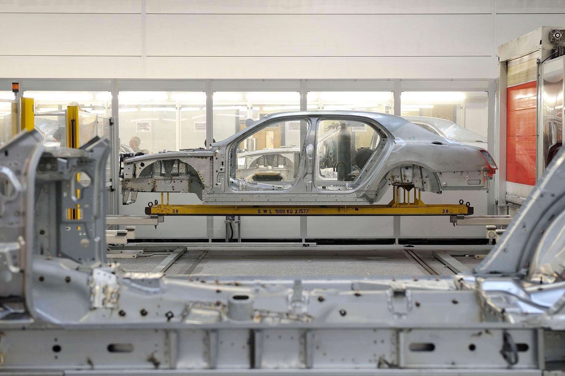 Χειροποίητη κατασκευή της Bentley Mulsanne - Το αμάξωμα