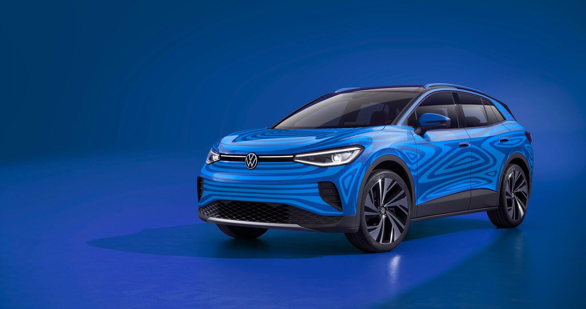 Volkswagen ID.4 concept car - Μπροστινή όψη