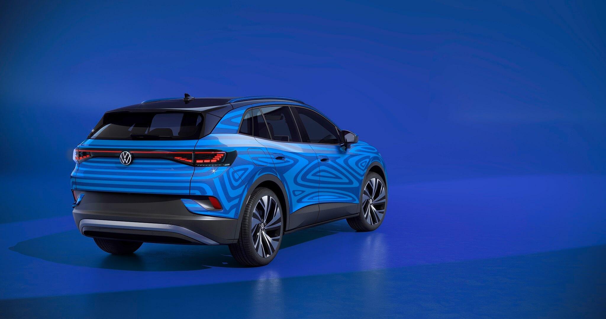 Volkswagen ID.4 concept car - Πίσω όψη