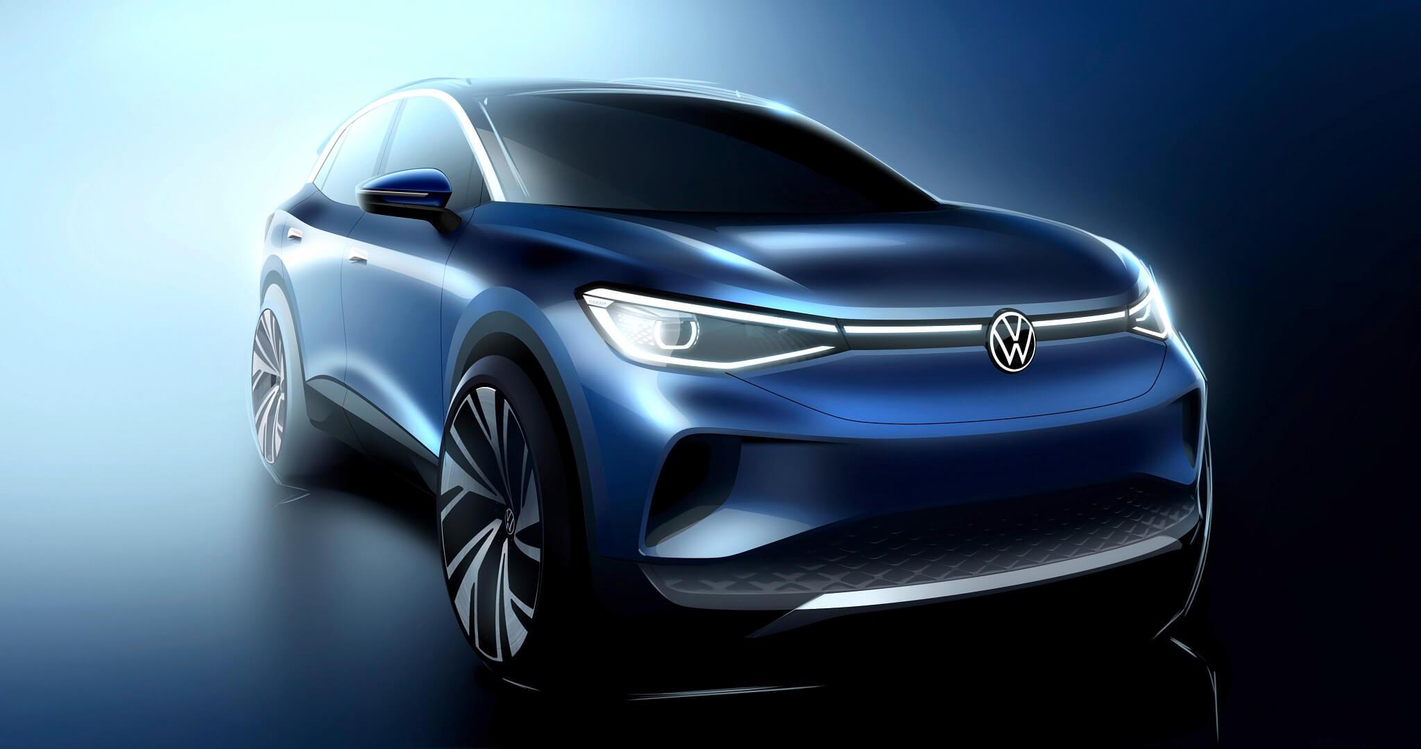 Volkswagen ID.4 concept car - Σχεδιασμός
