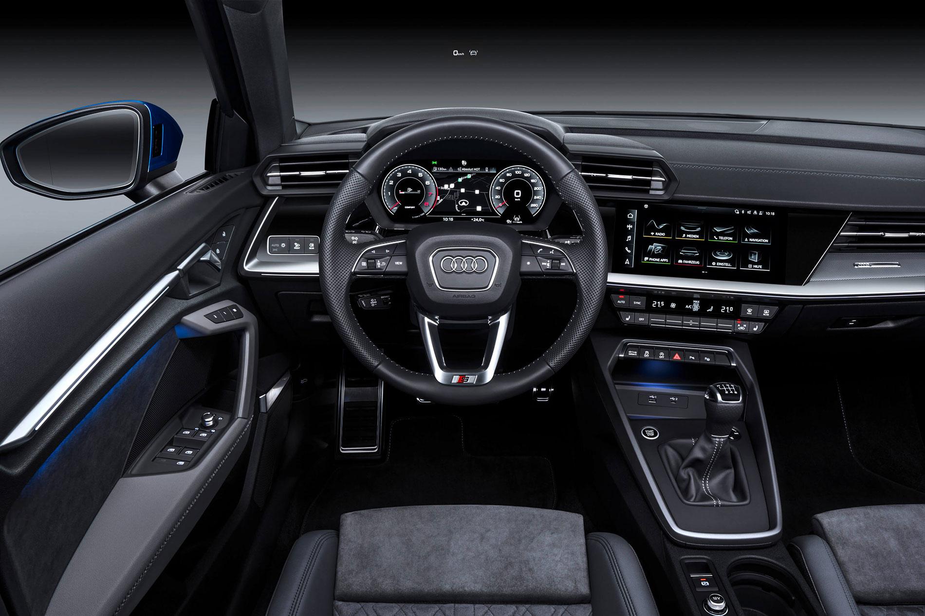 Νέο AUDI A3 Sportback - Εσωτερικό - Ψηφιοποιημένα χειριστήρια και οθόνες