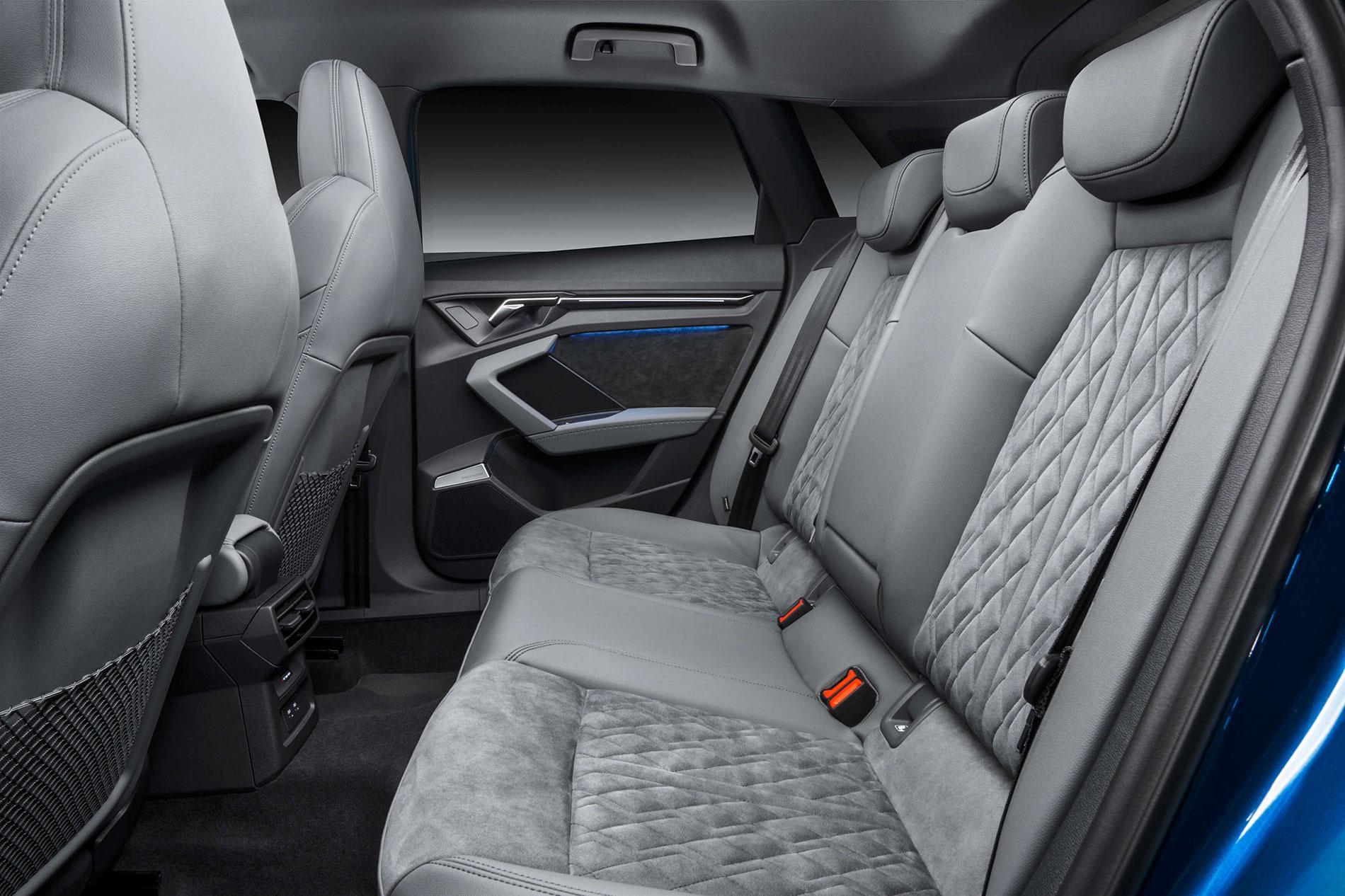 Νέο AUDI A3 Sportback - Βελτιστοποιημένοι χώροι