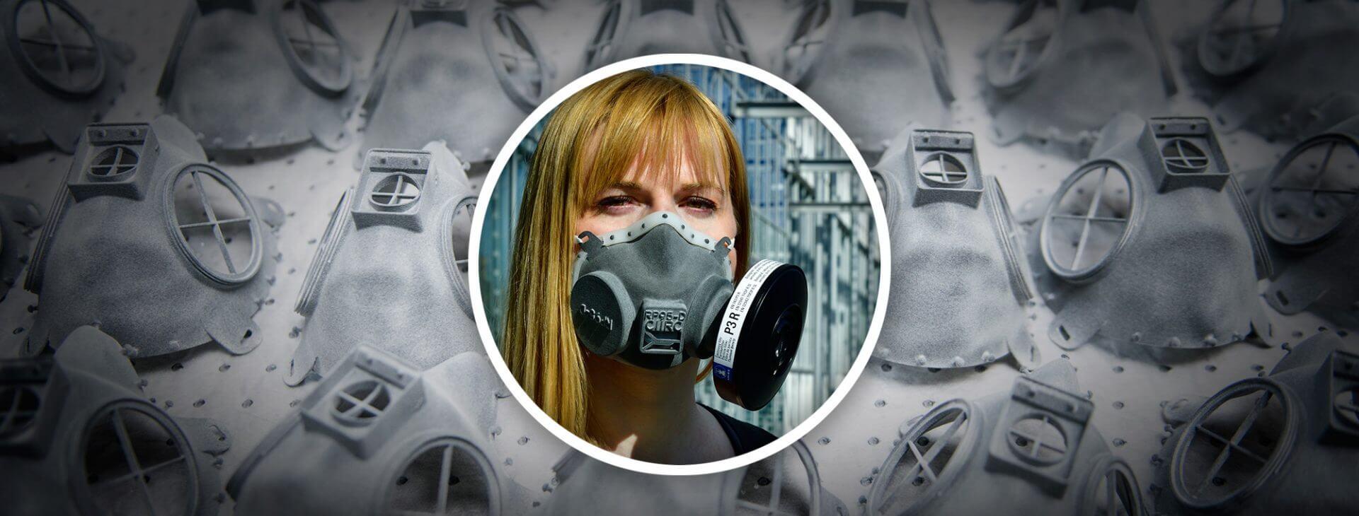 Ειδικές προστατευτικές μάσκες-αναπνευστήρες κλάσης FFP3