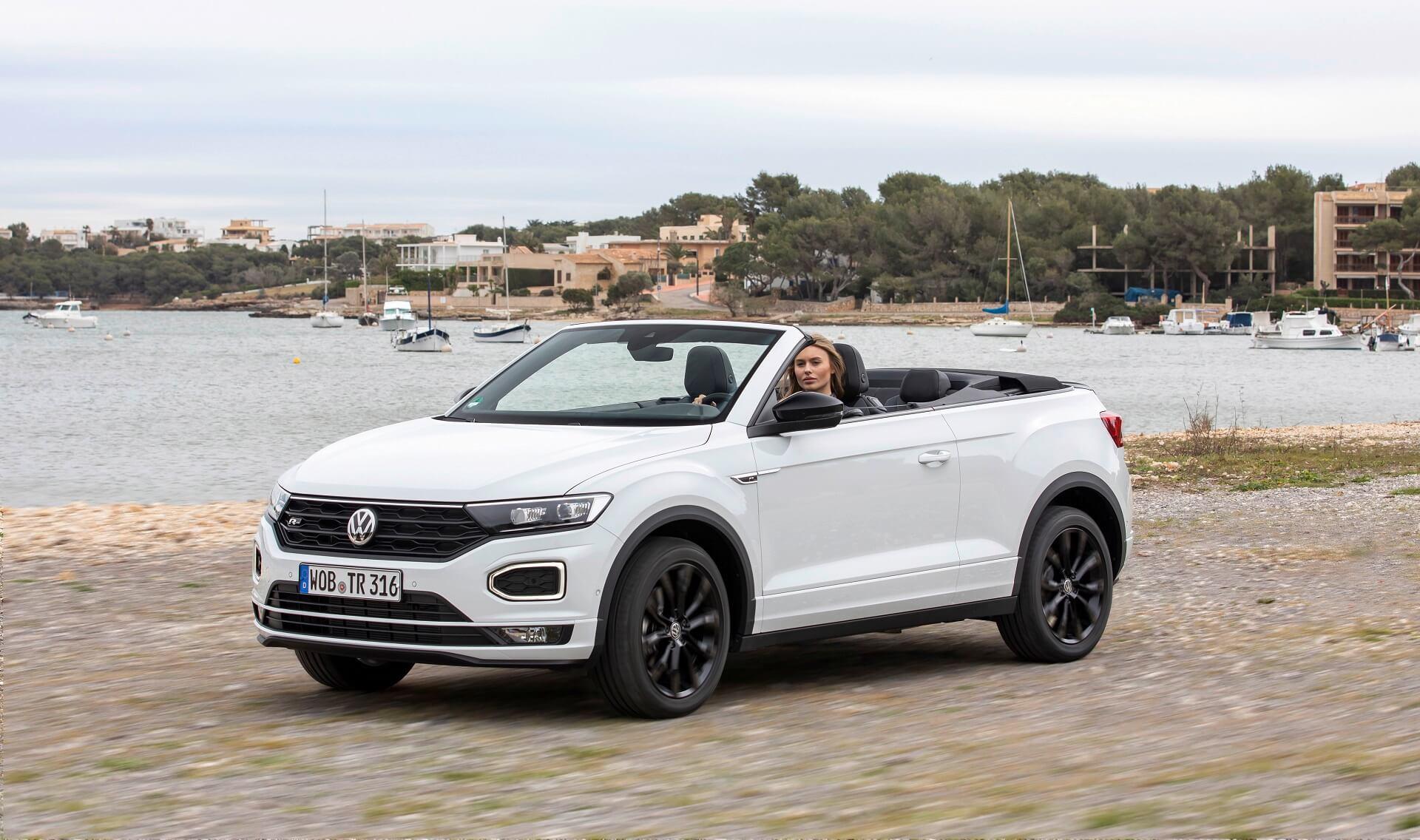 Volkswagen T-Roc Cabriolet - Δύο εκδόσεις - Πλούσιος βασικός εξοπλισμός