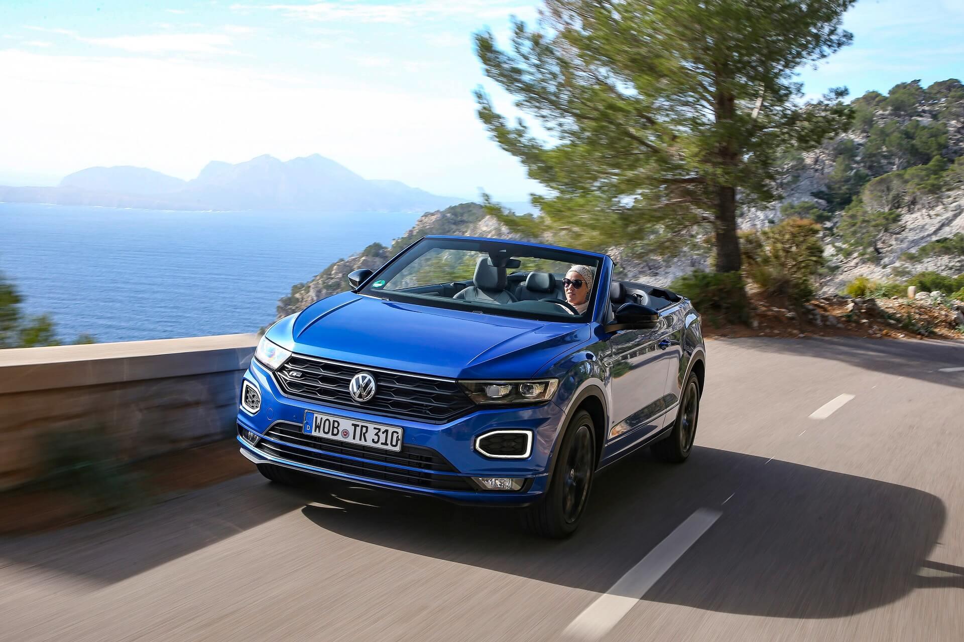 Volkswagen T-Roc Cabriolet - Βελτιωμένη οδηγική εμπειρία με θέα
