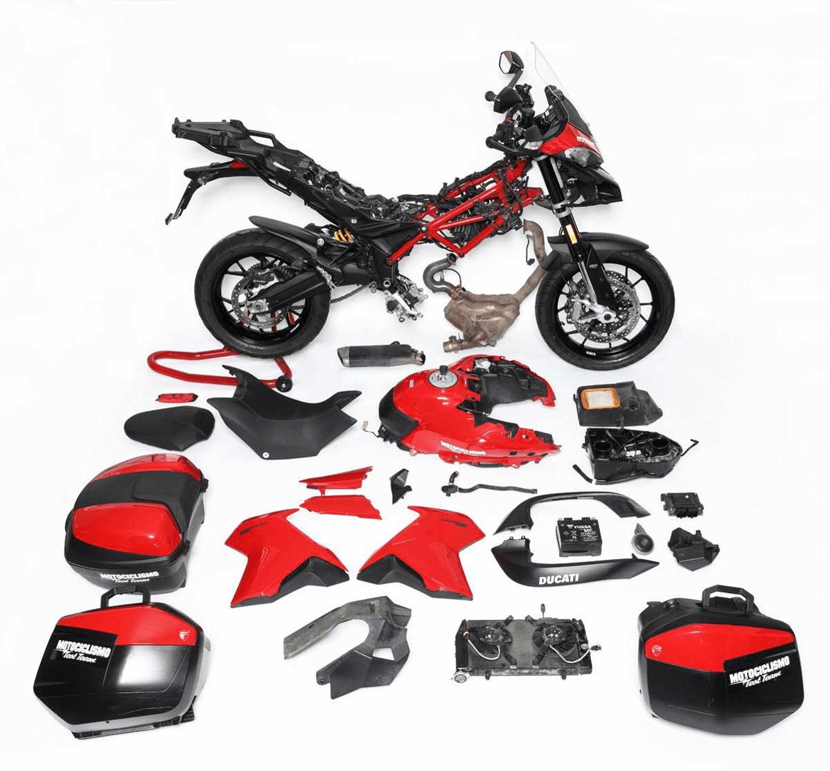 Ducati Multistrada - Εξαρτήματα
