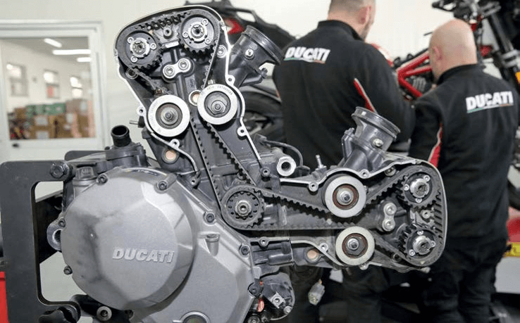Ducati Multistrada - Εικόνα γραναζιού και αλυσίδας
