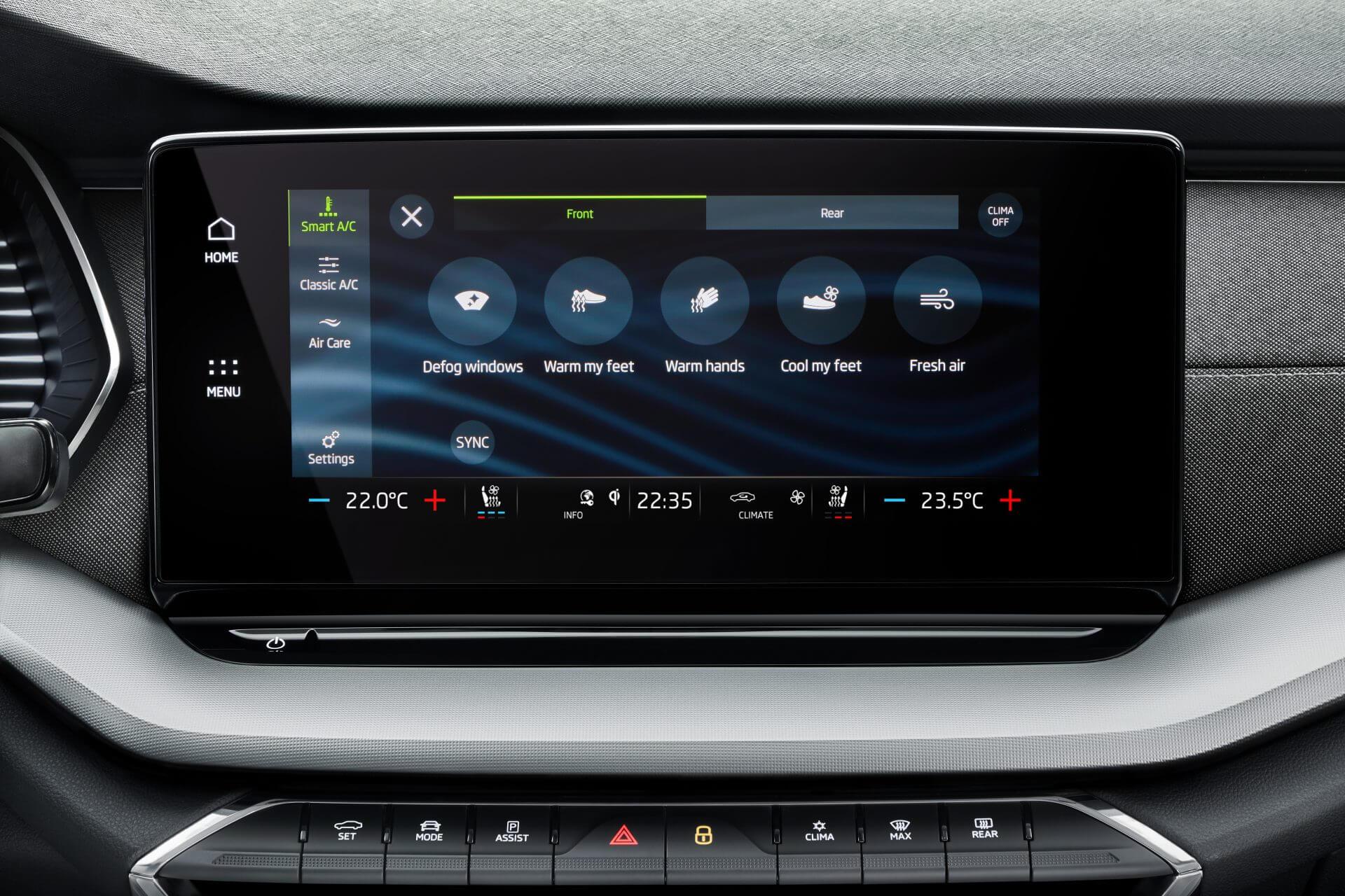 Νέα SKODA Octavia Sportswagon | Προηγμένο σύστημα infotainment