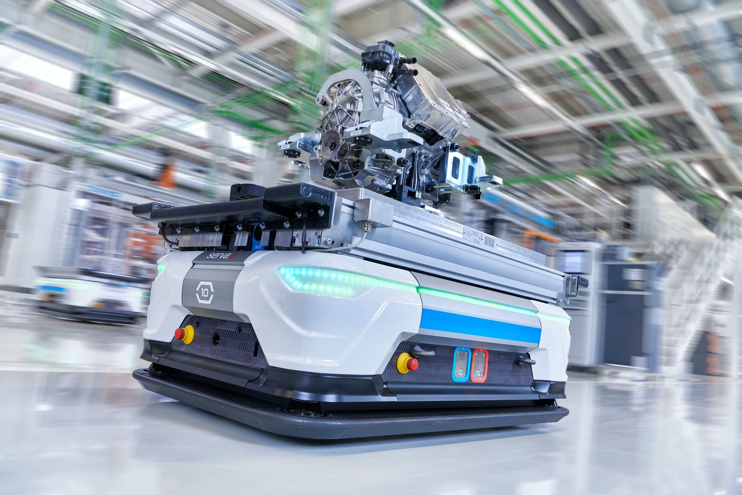 AUDI Smart Plant - Συστήματα μεταφοράς χωρίς οδηγό