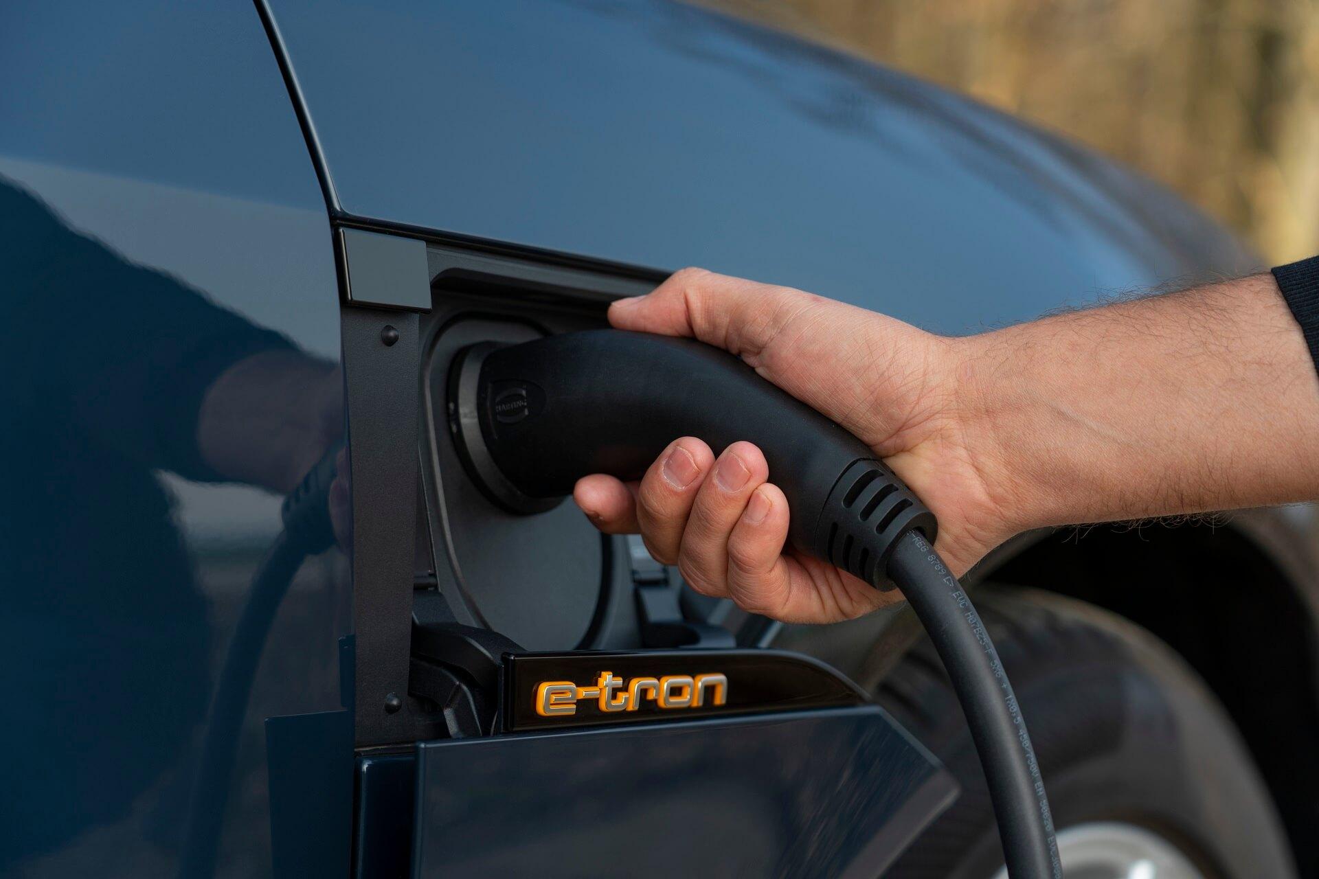 Audi e-tron Sportback - Φόρτιση