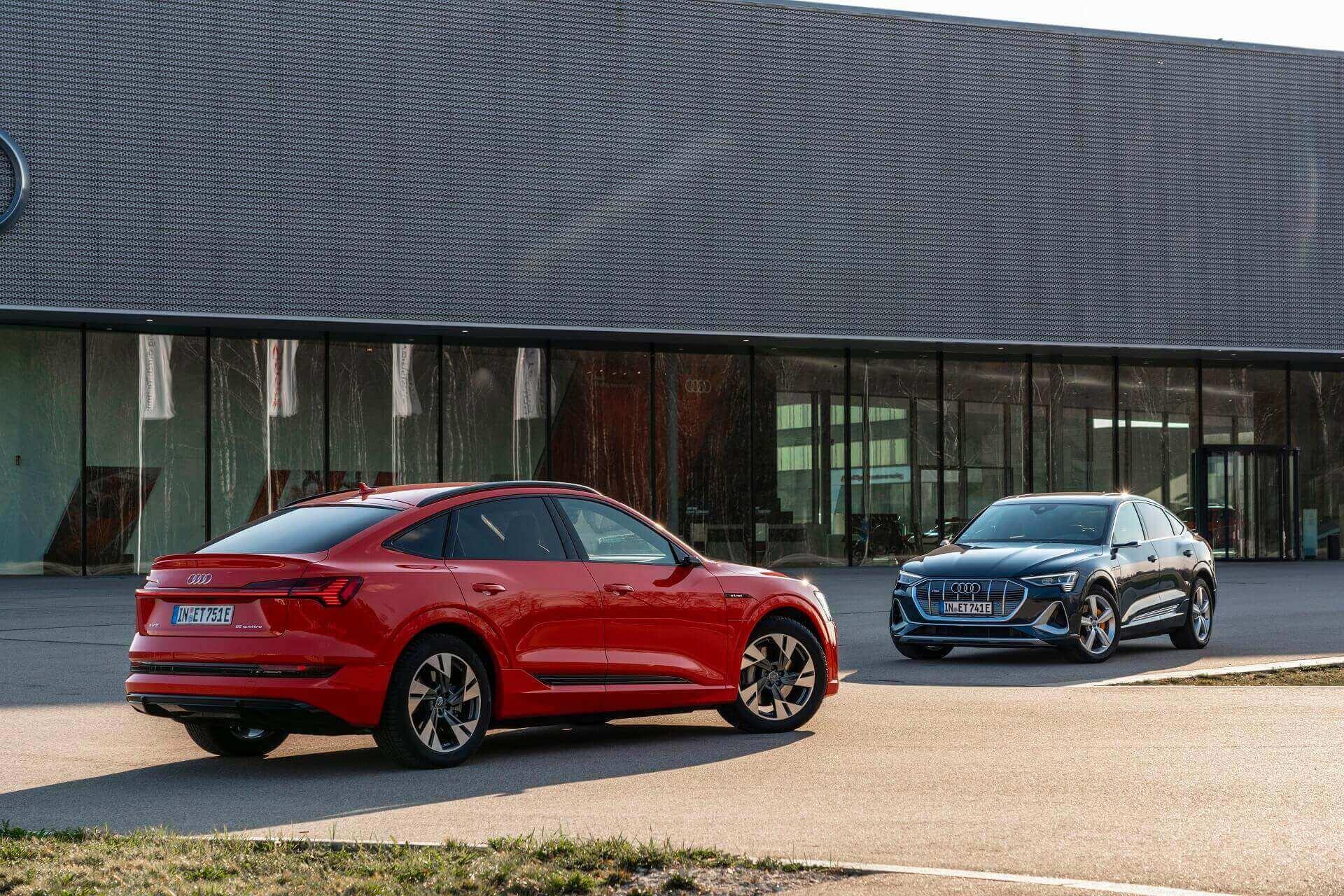 Audi e-tron Sportback -  Μοντέλα