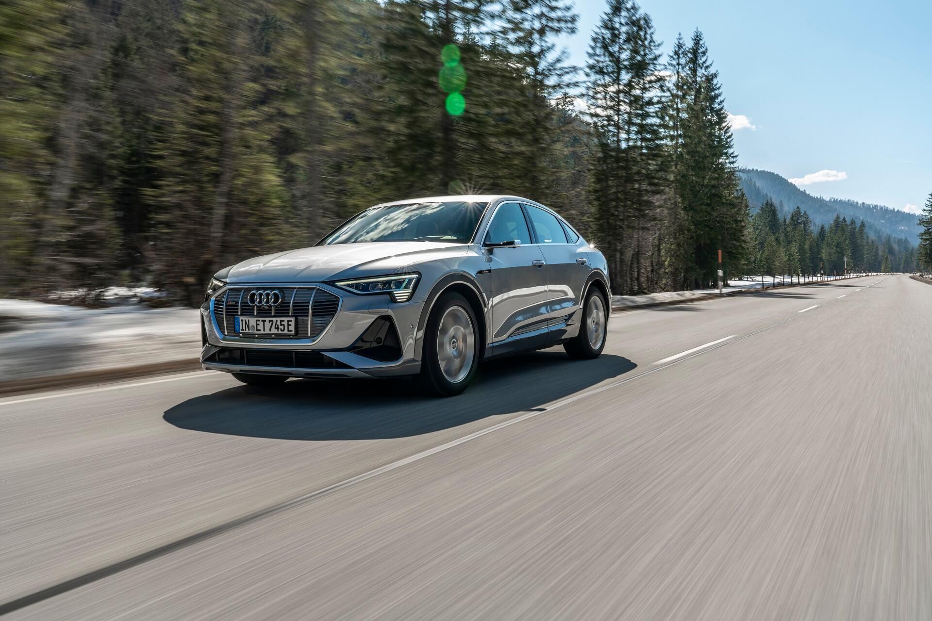 Audi e-tron Sportback - Σπορ χαρακτήρας