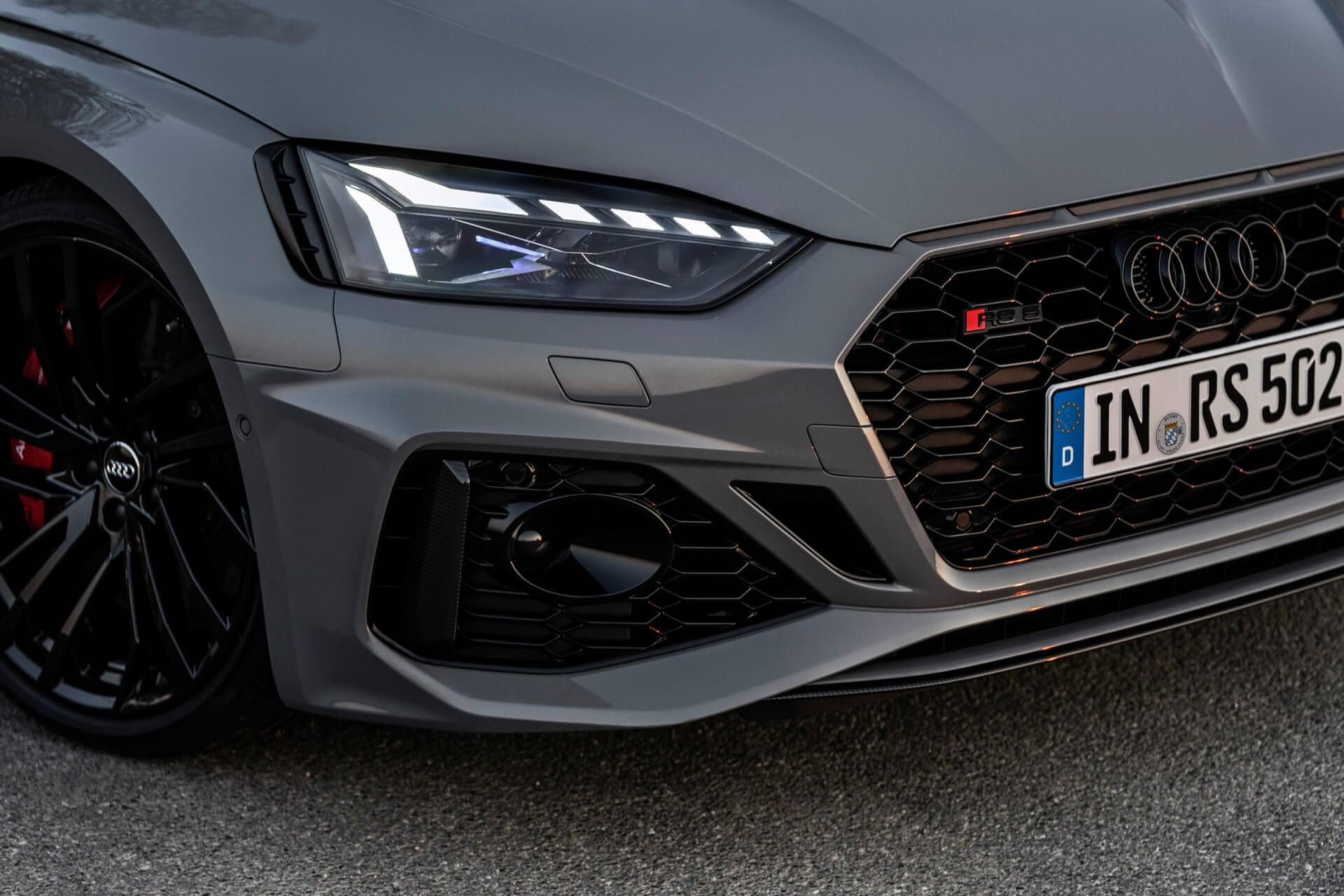 Νέο Audi RS 5 - Λεπτομέρεια εξωτερικού σχεδιασμού - Προβολείς Matrix LED