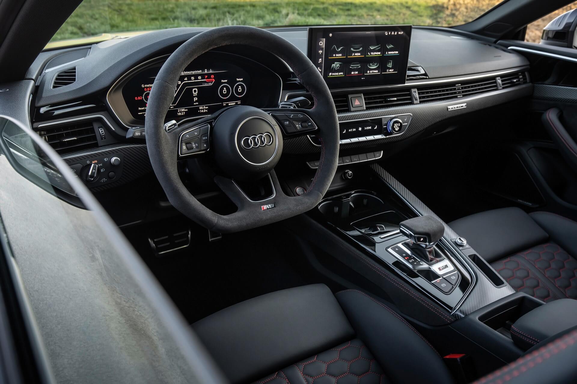 Νέο Audi RS 5 - Ιδιαίτερο και hi-tech εσωτερικό