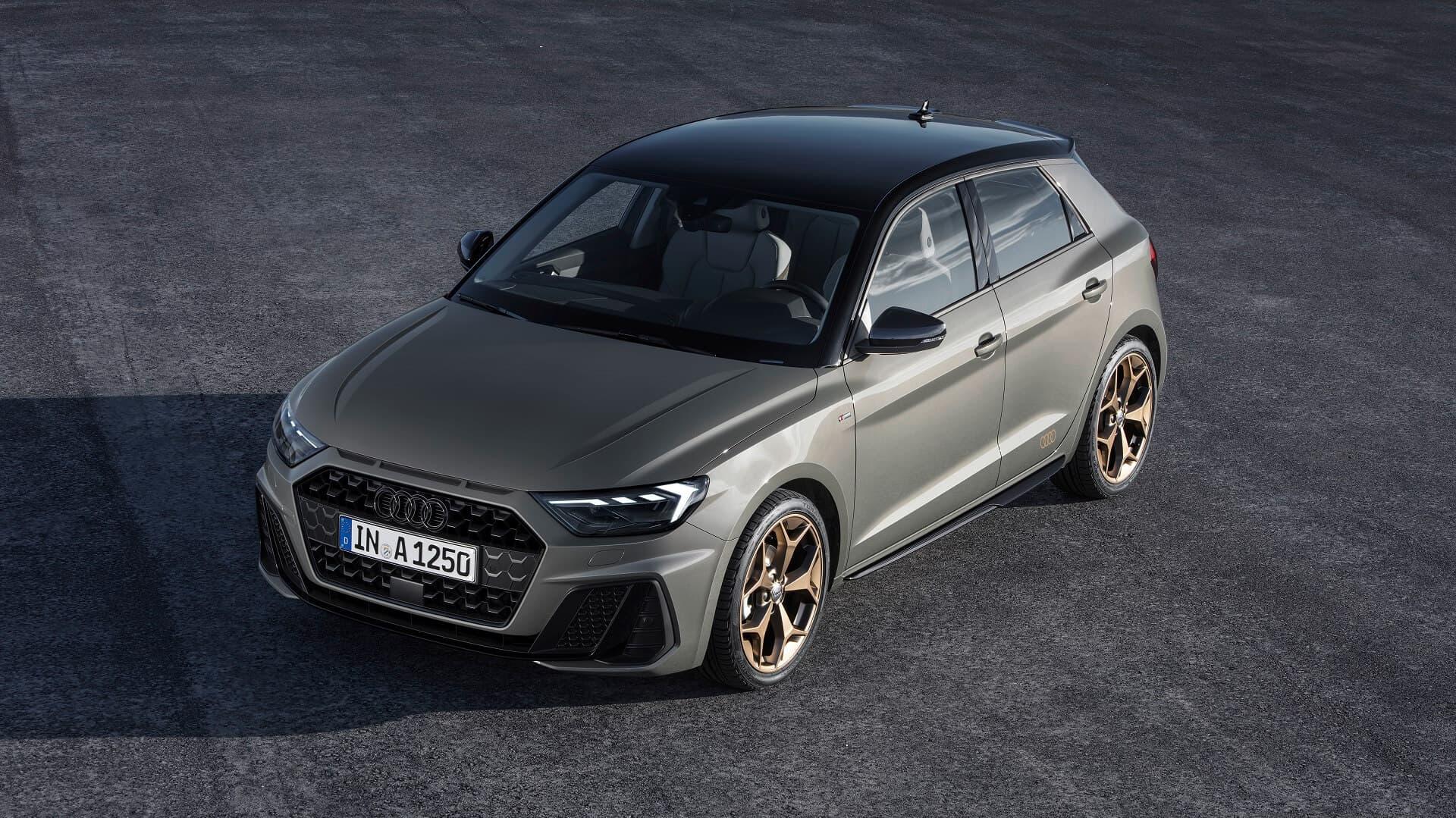 Το Audi A1 - Εμπρός όψη