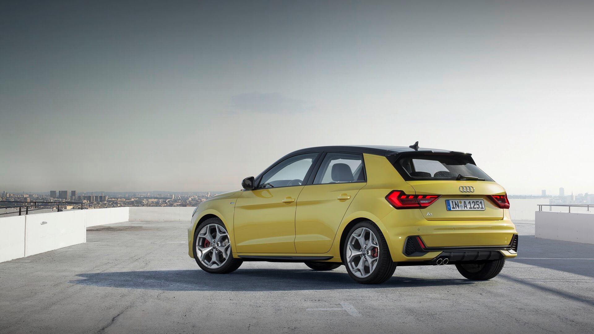 Το Audi A1 - Πίσω όψη