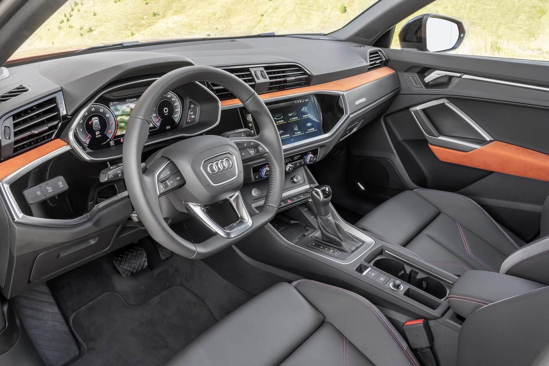 Το Audi Q3 - Εσωτερικό