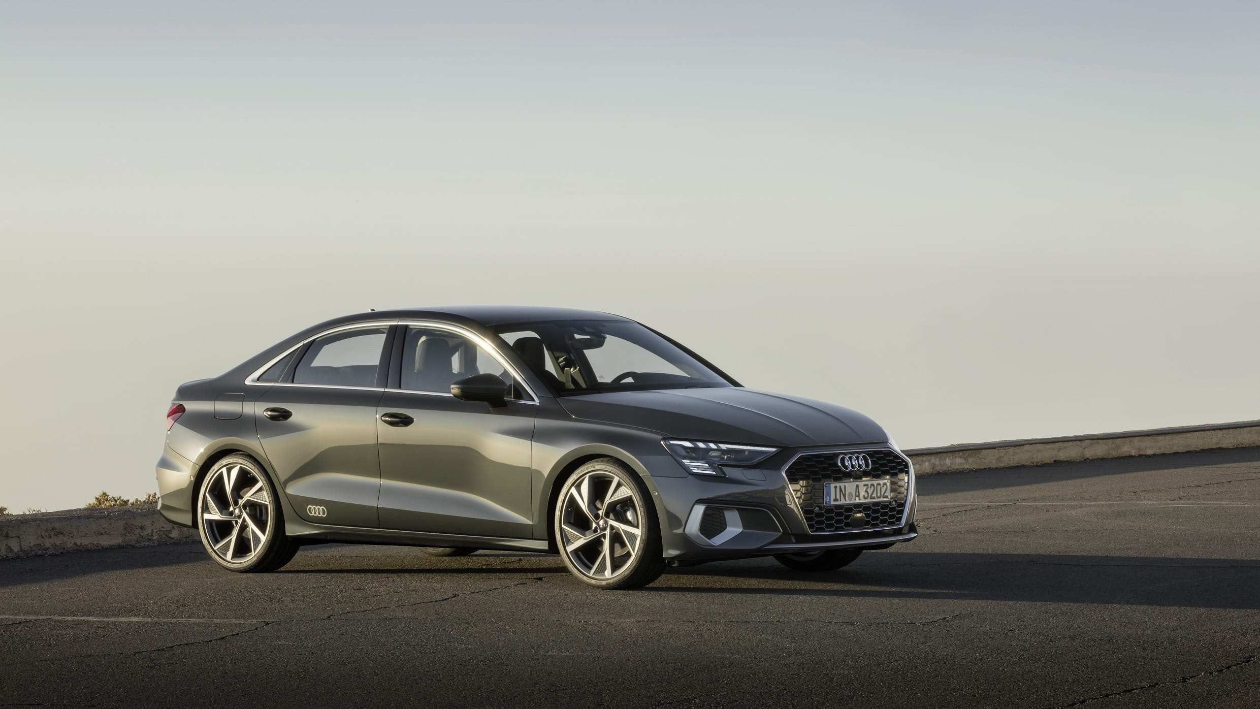 Νέο Audi A3 Sedan - Εμπρός όψη