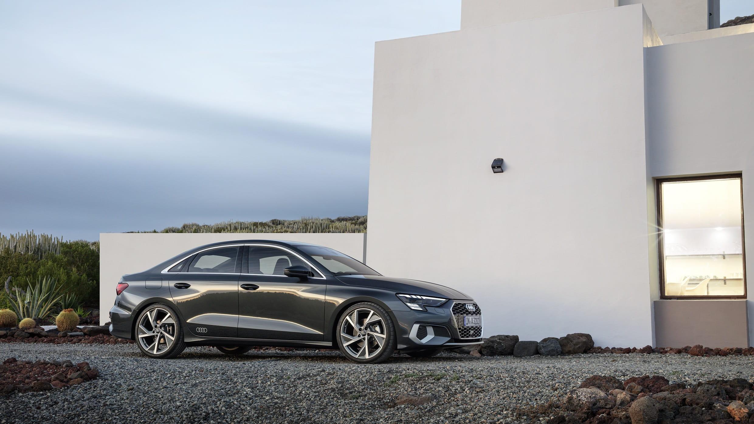 Νέο Audi A3 Sedan - Εξωτερικός σχεδιασμός