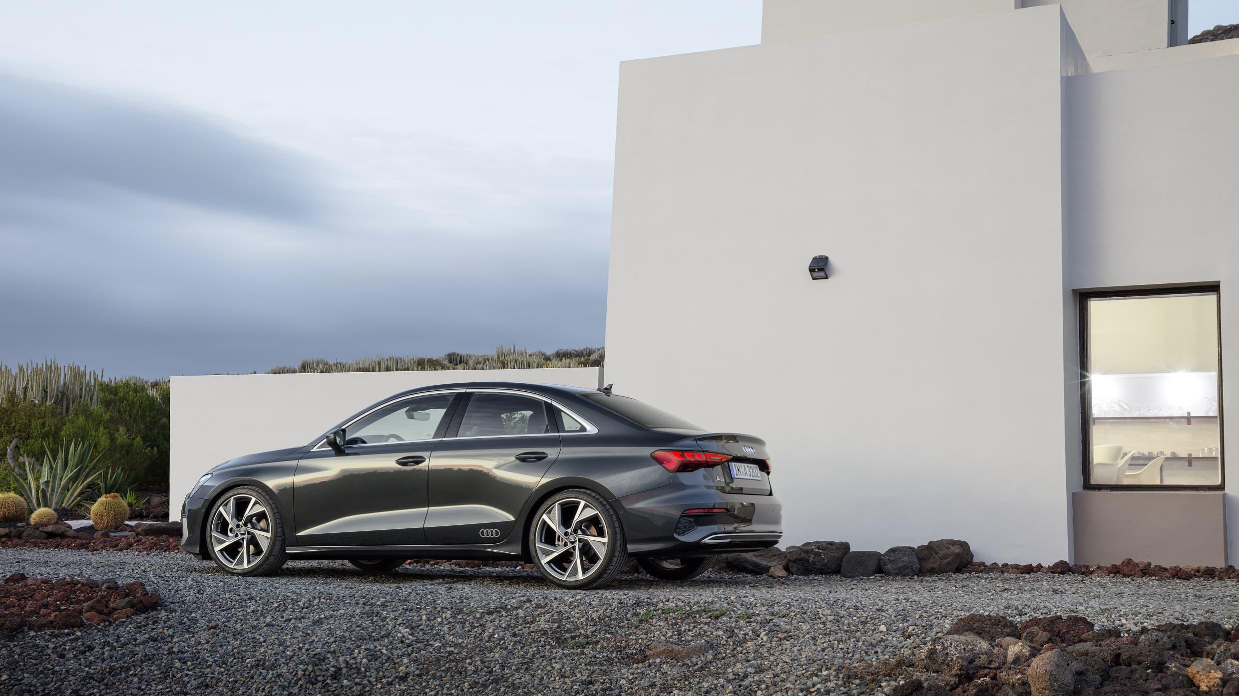 Νέο Audi A3 Sedan - Εξωτερικός σχεδιασμός - Πίσω όψη