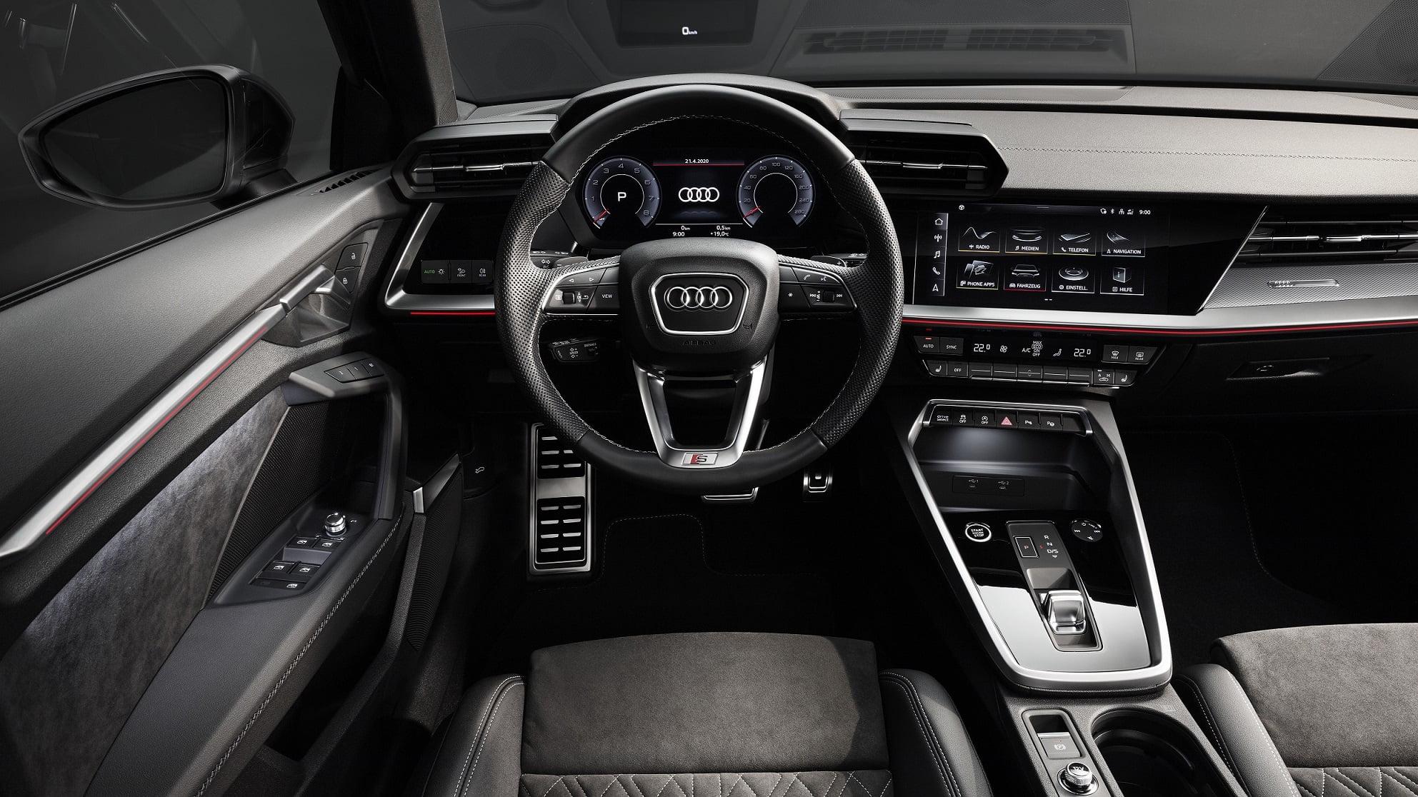 Νέο Audi A3 Sedan - Εσωτερικό