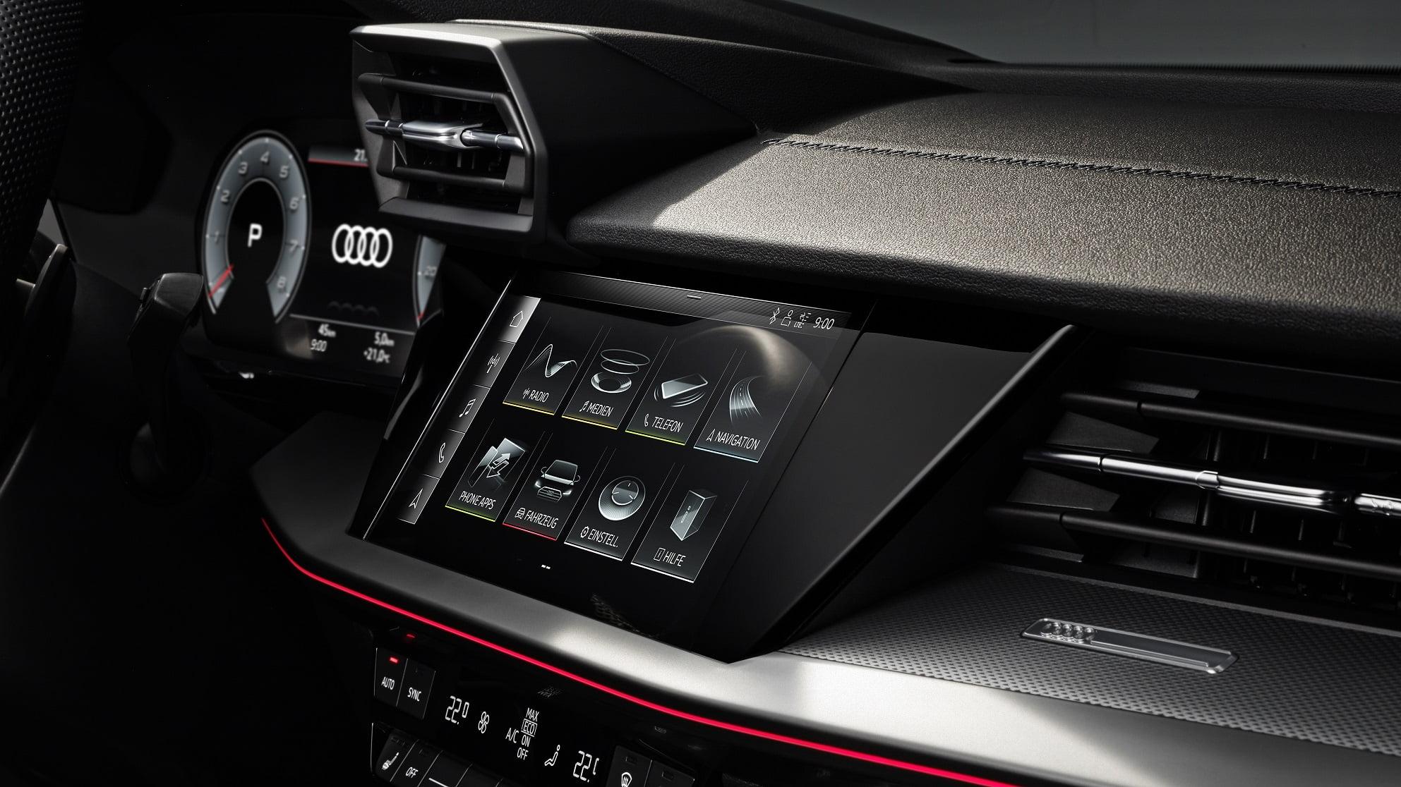Νέο Audi A3 Sedan - Σύστημα infotainment για κορυφαία συνδεσιμότητα