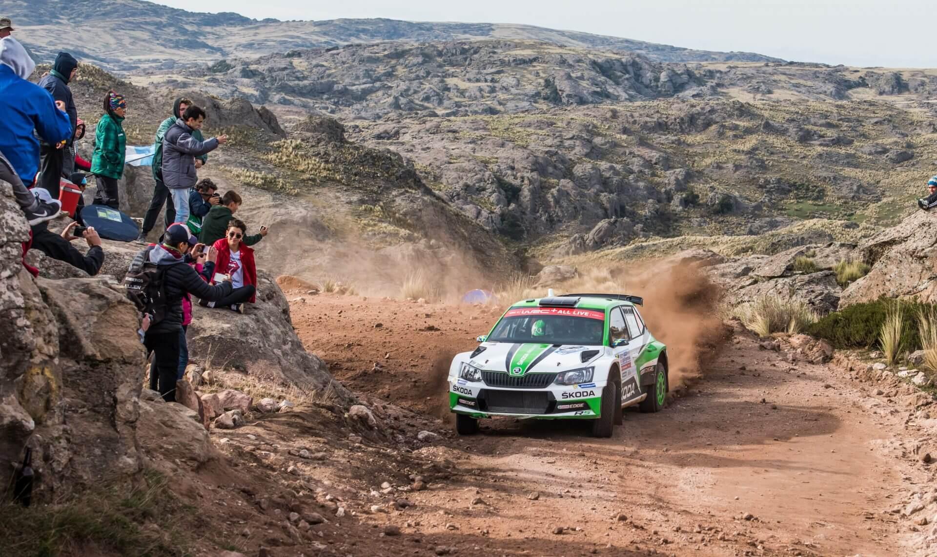 Rally Αργεντινής Skoda Fabia R5 – Τίντεμαν - Άντερσσον