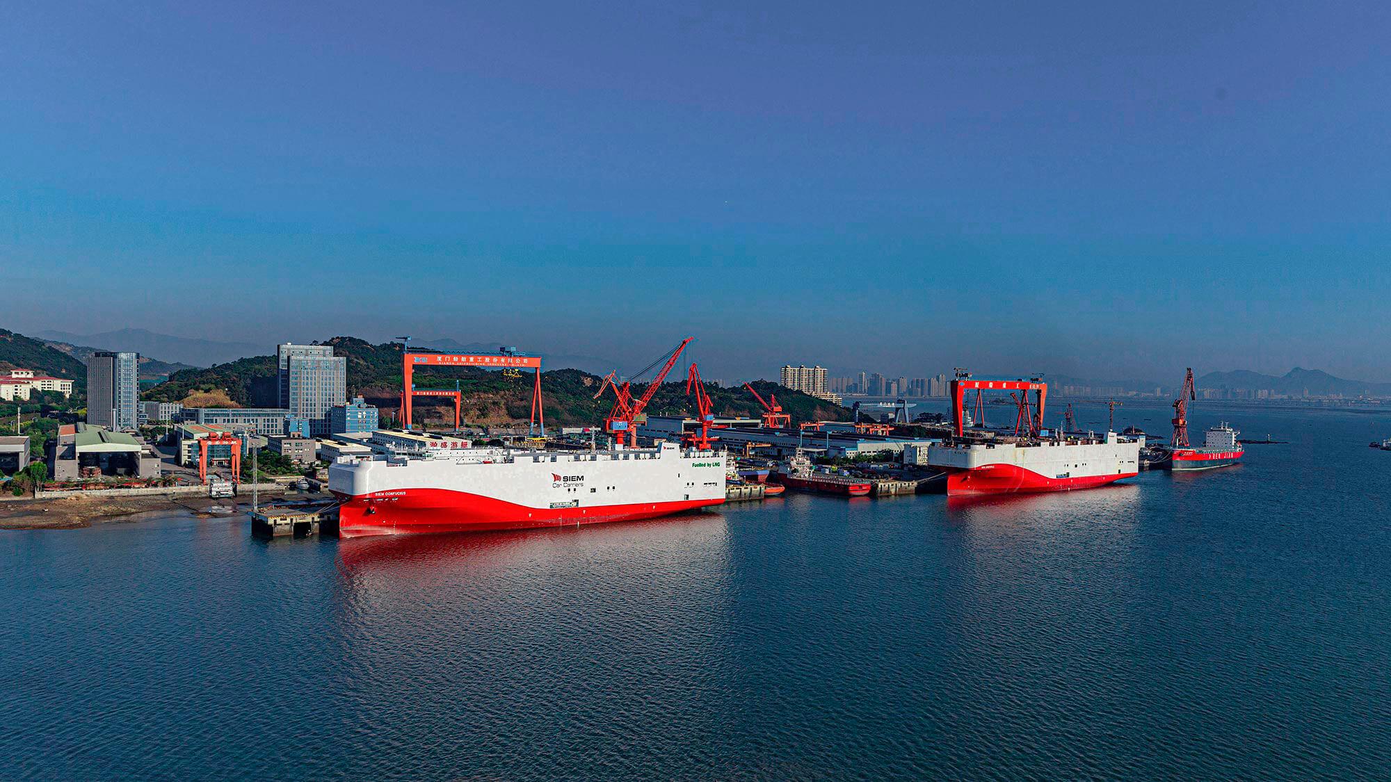 Volkswagen Group - Ιδιόκτητος στόλος πλοίων μεταφοράς αυτοκίνητων - Πλοία LNG