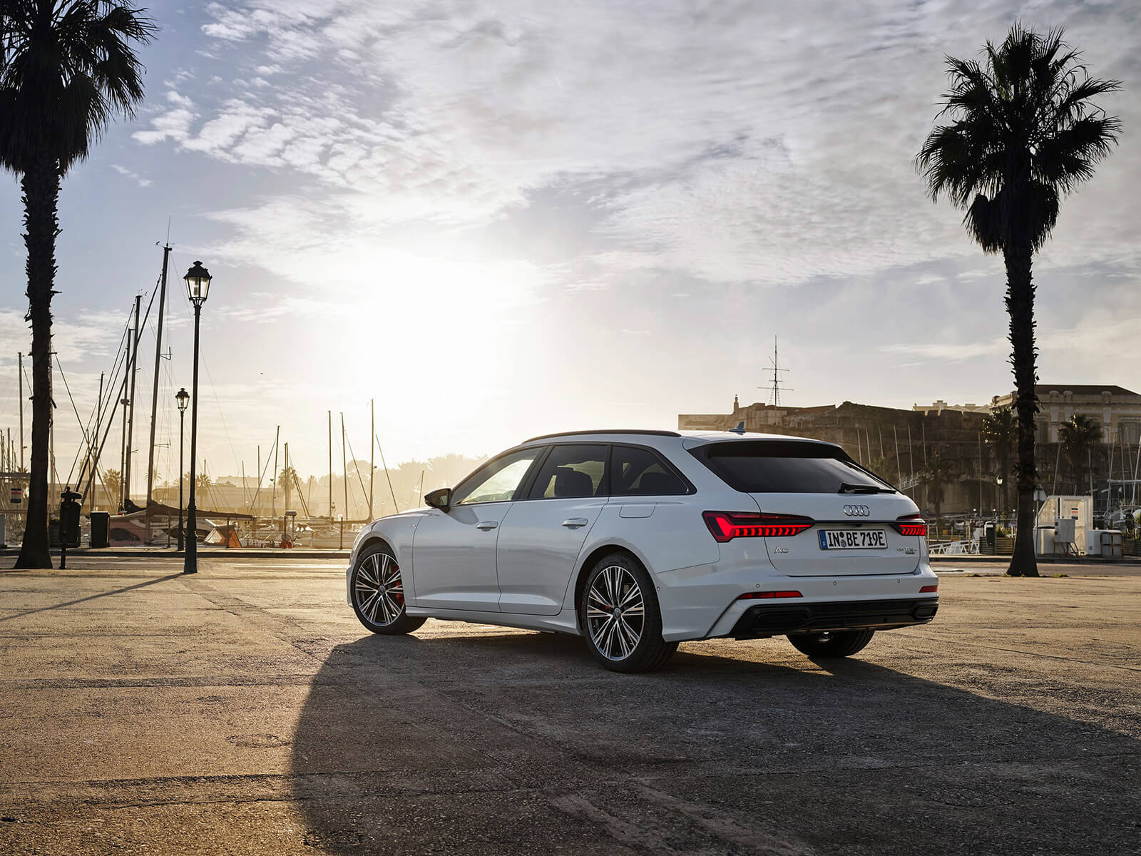 Νέο Audi A6 Avant TFSI e quattro - Πίσω όψη