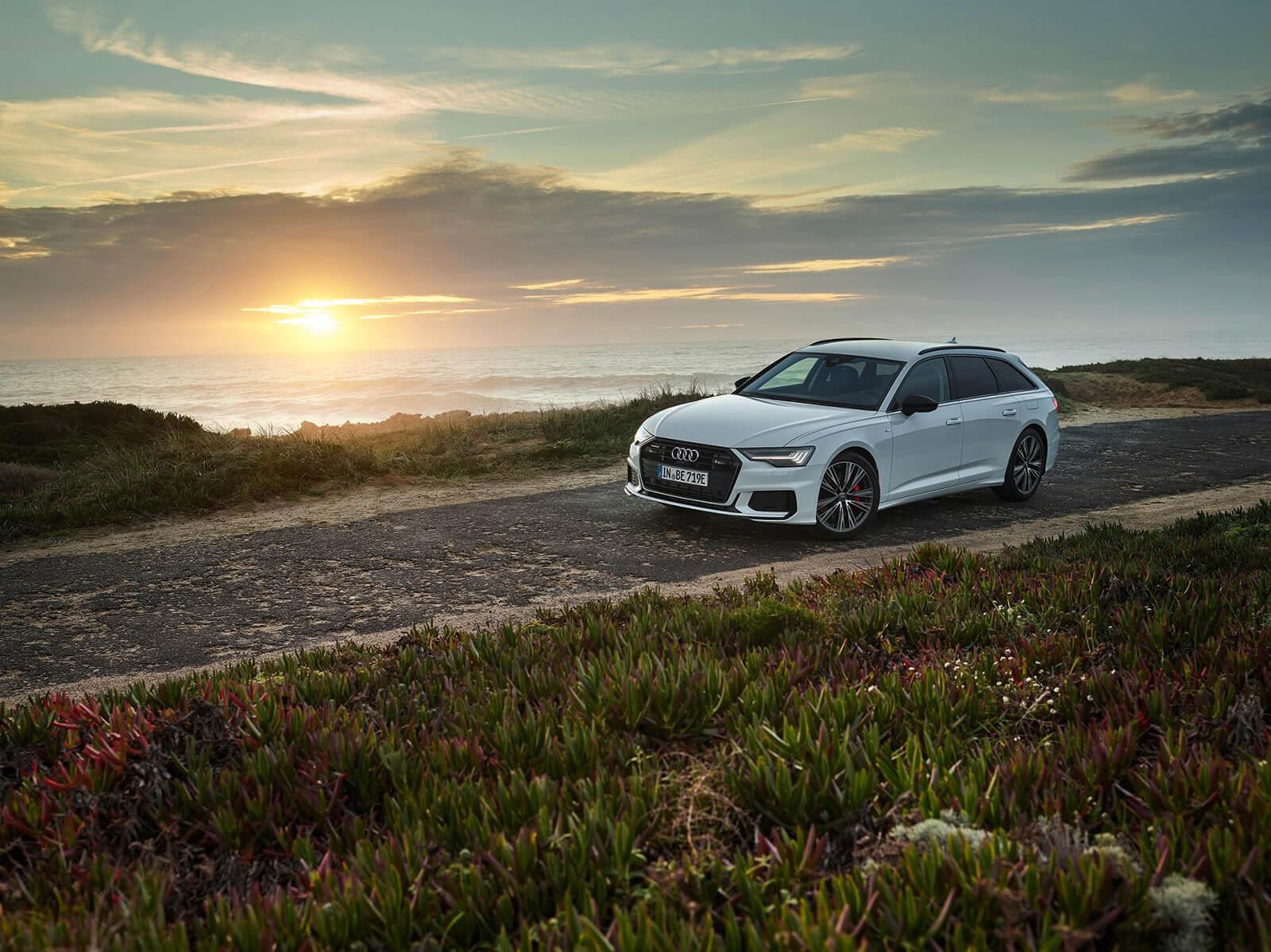 Νέο Audi A6 Avant TFSI e quattro σε κίνηση