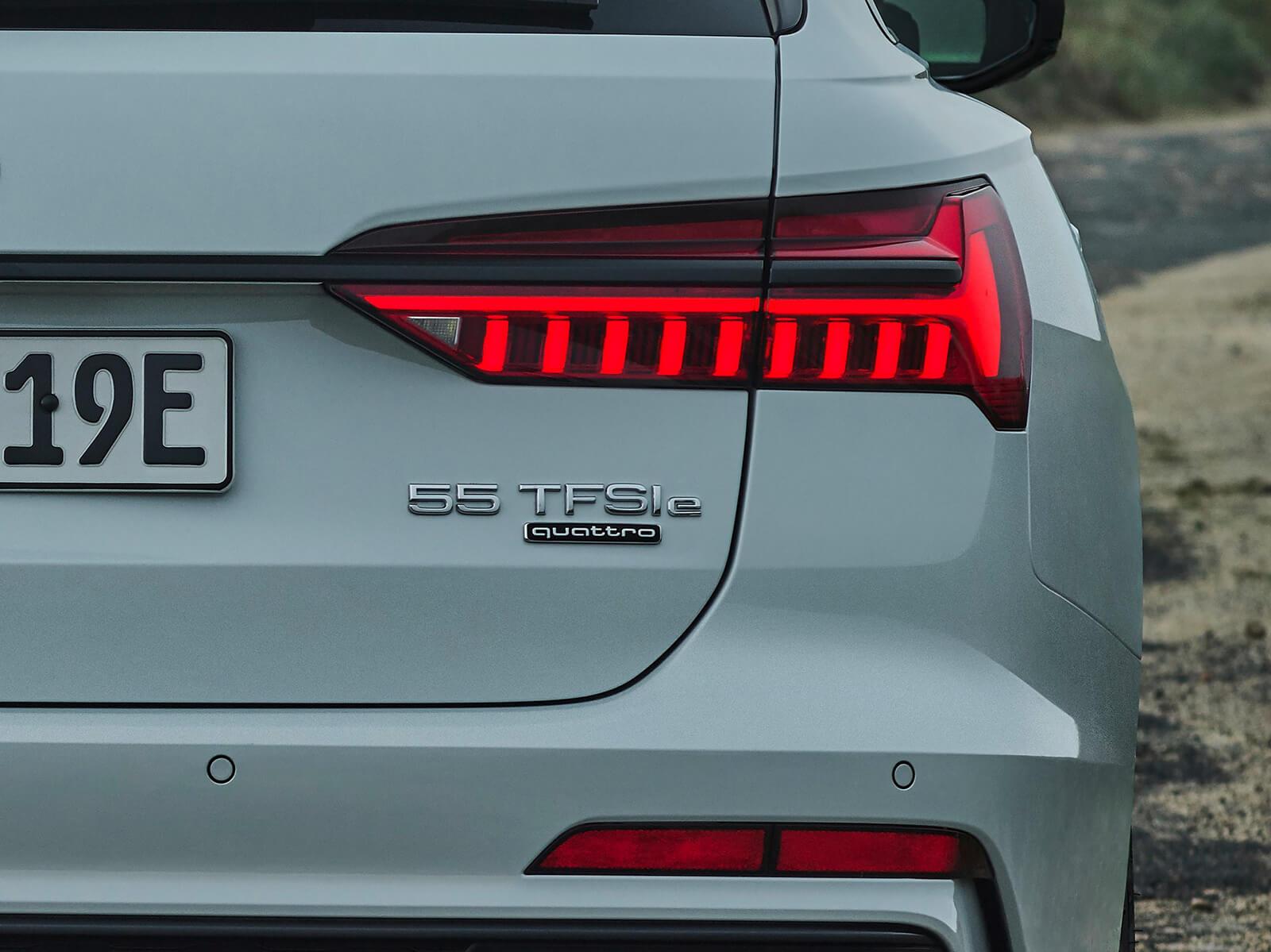 Νέο Audi A6 Avant TFSI e quattro - Λεπτομέρεια πίσω όψη