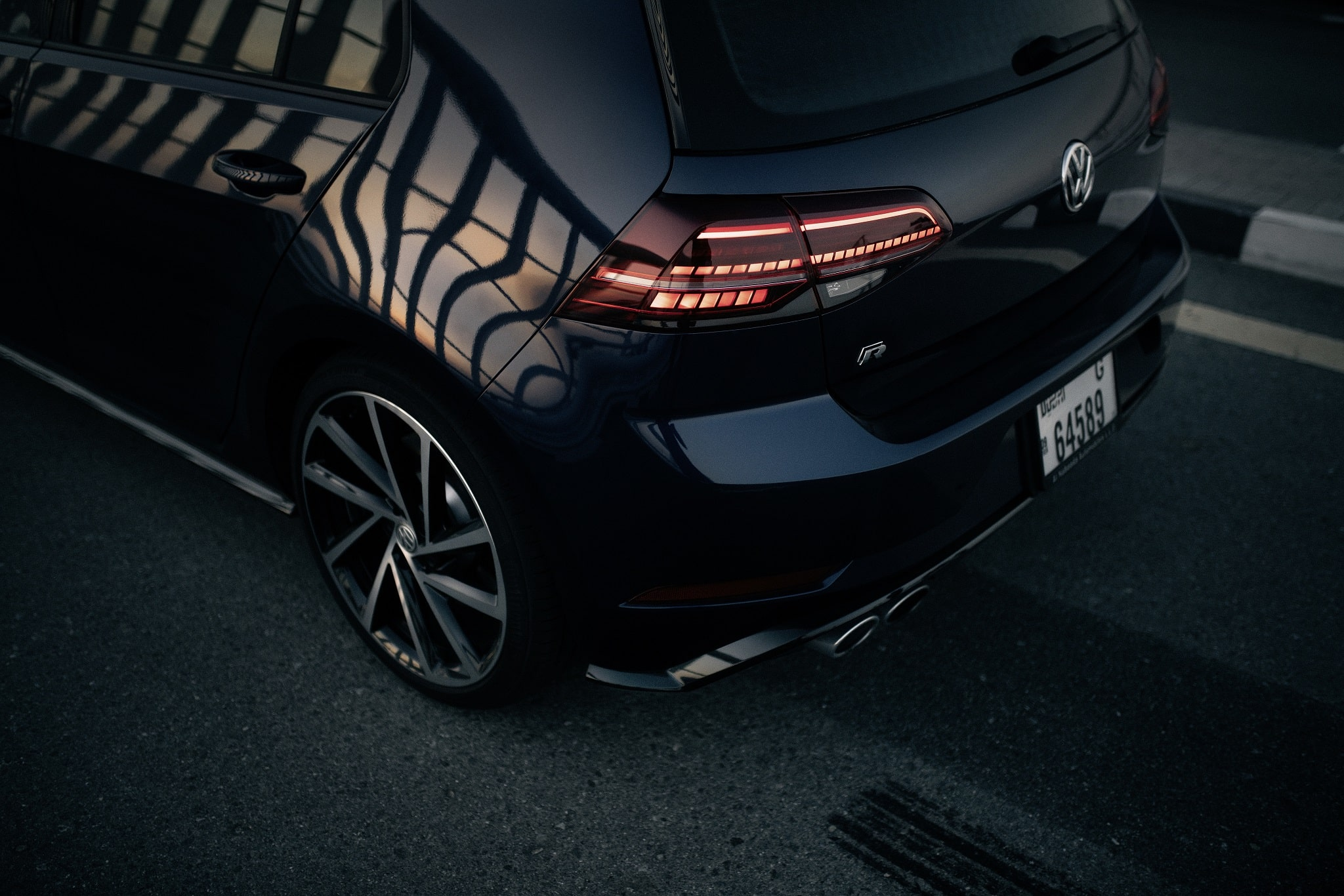 Volkswagen R - Νέο Golf R - Λεπτομέρεια