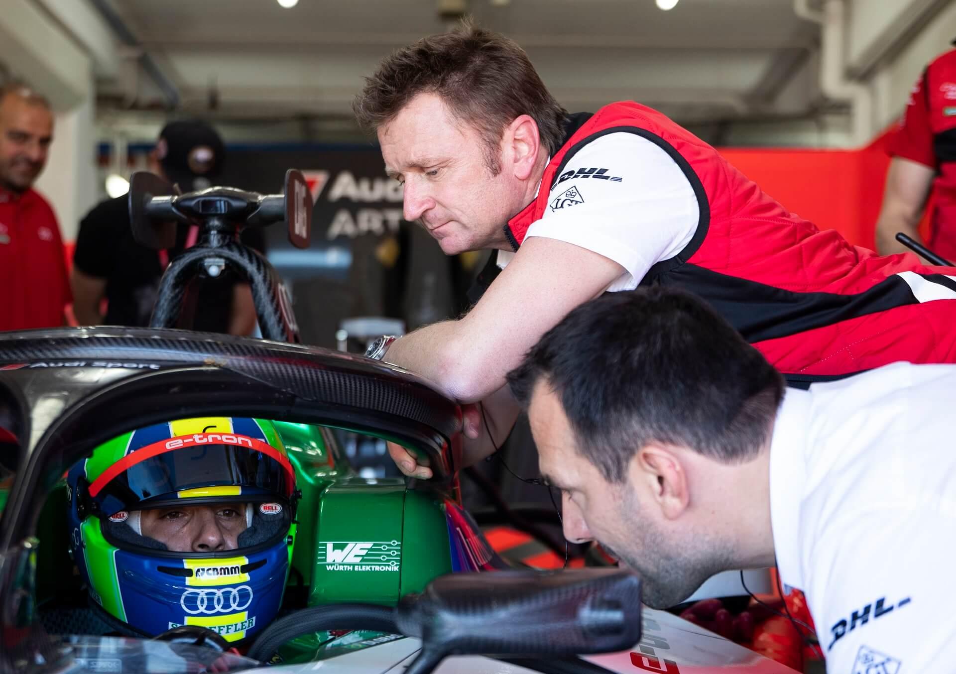Audi Sport ABT Schaeffler - Allan McNish και Lucas Di GRassi - Audi Formula E