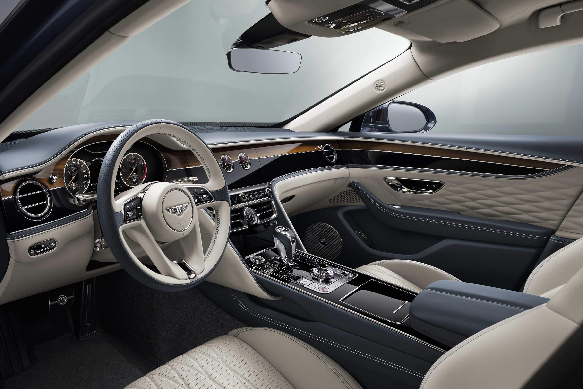 Bentley - Metrology - Flying Spur εσωτερικό