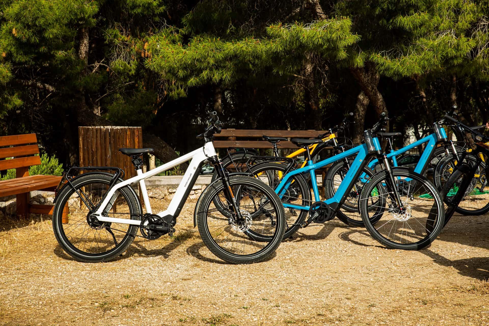 Kosmocar e-bikes στην εκδήλωση για το μνημόνιο συνεργασίας ΥΠΕΝ - ΣΠΑΥ