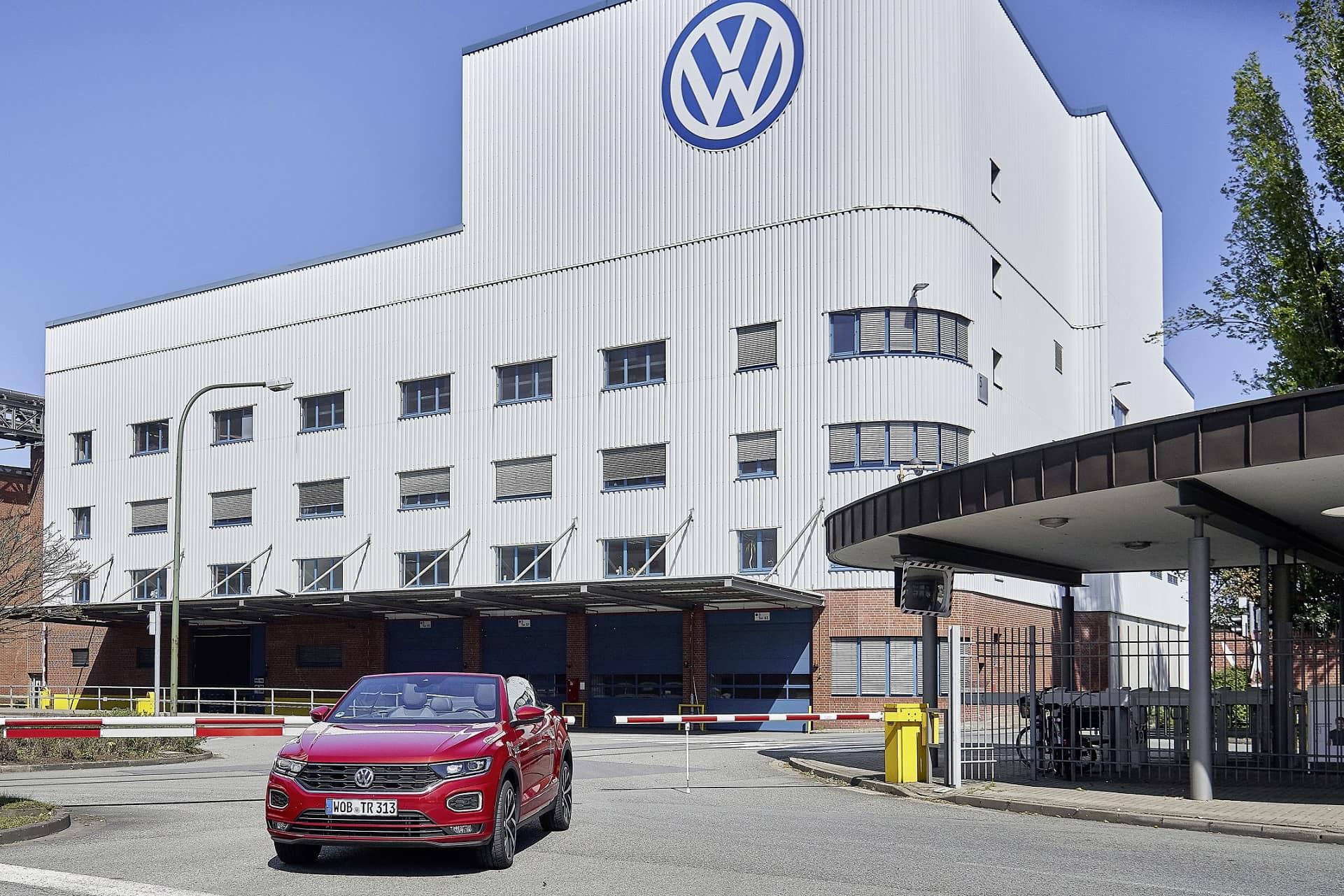 Volkswagen T-ROC Cabriolet - Εργοστάσιο του Όσναμπρυκ