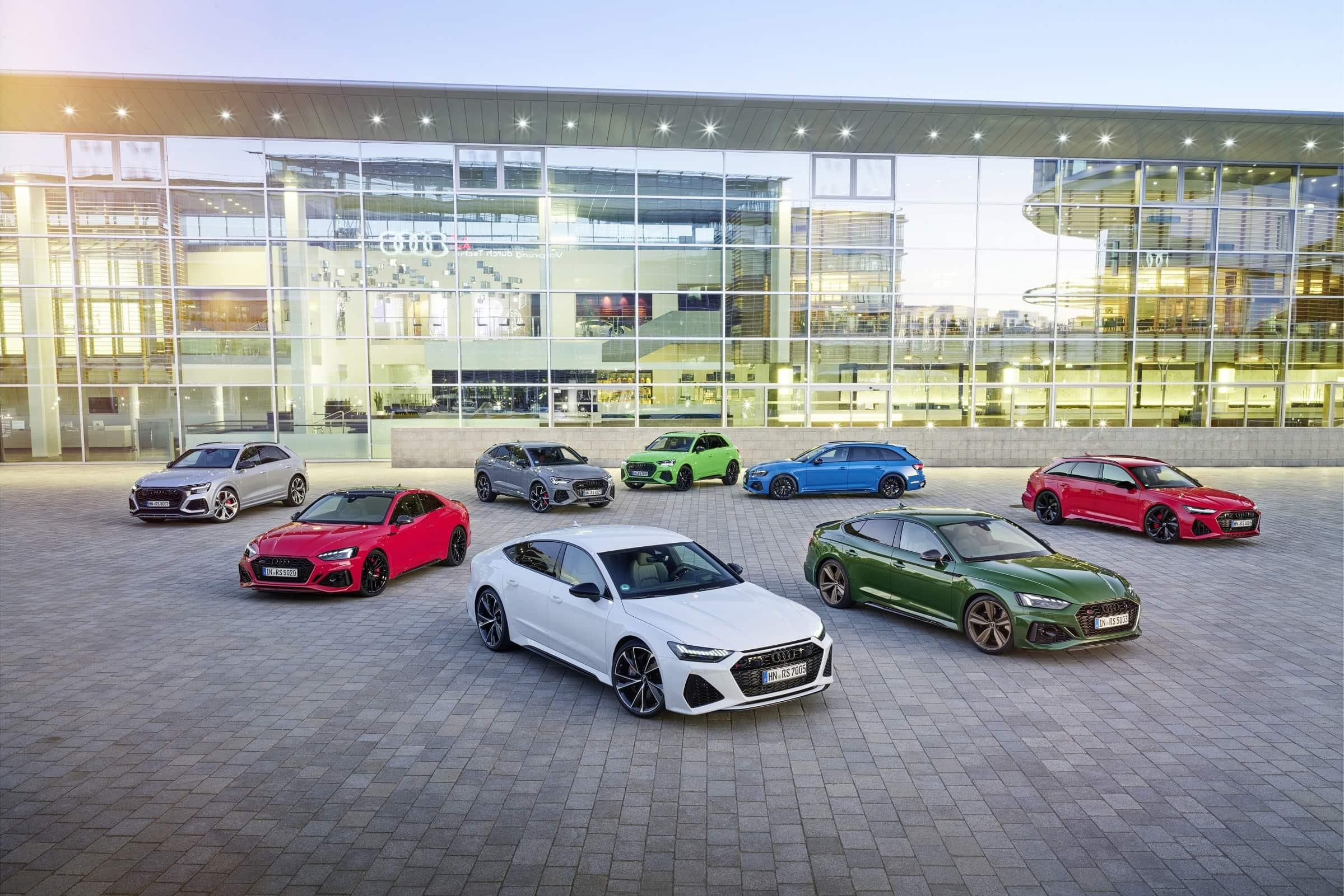 Γκάμα μοντέλων Audi RS