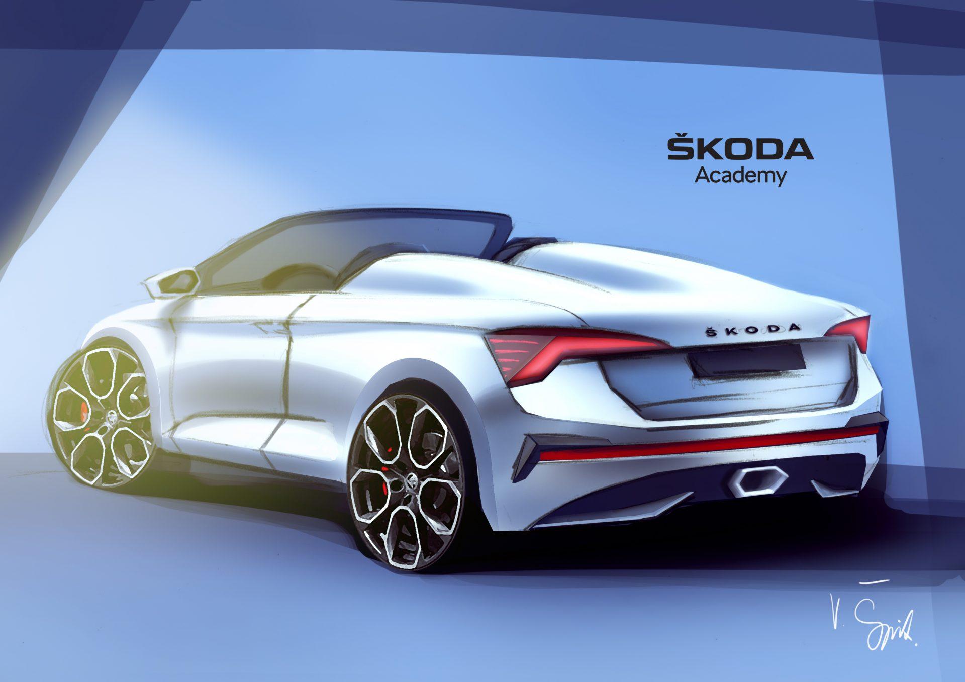 SKODA Academy concept car