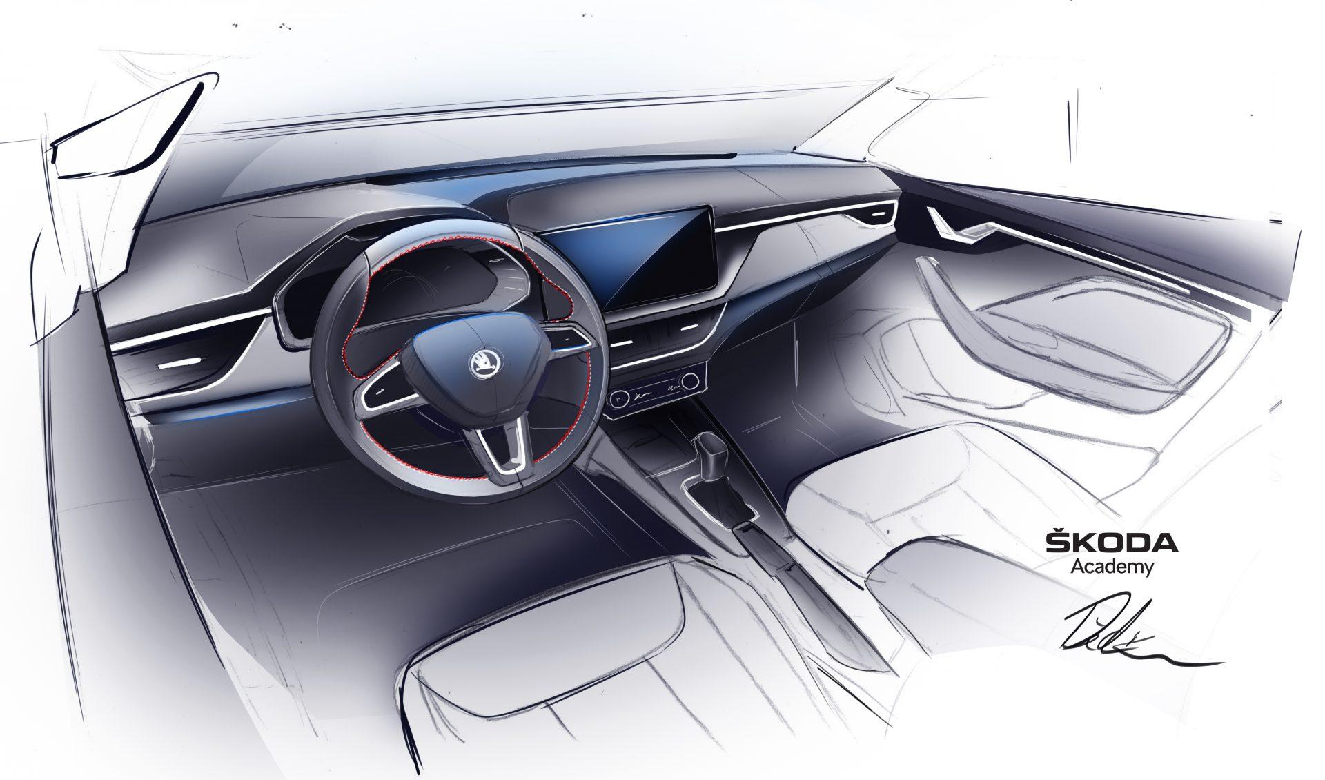SKODA Academy concept car - Σχέδιο