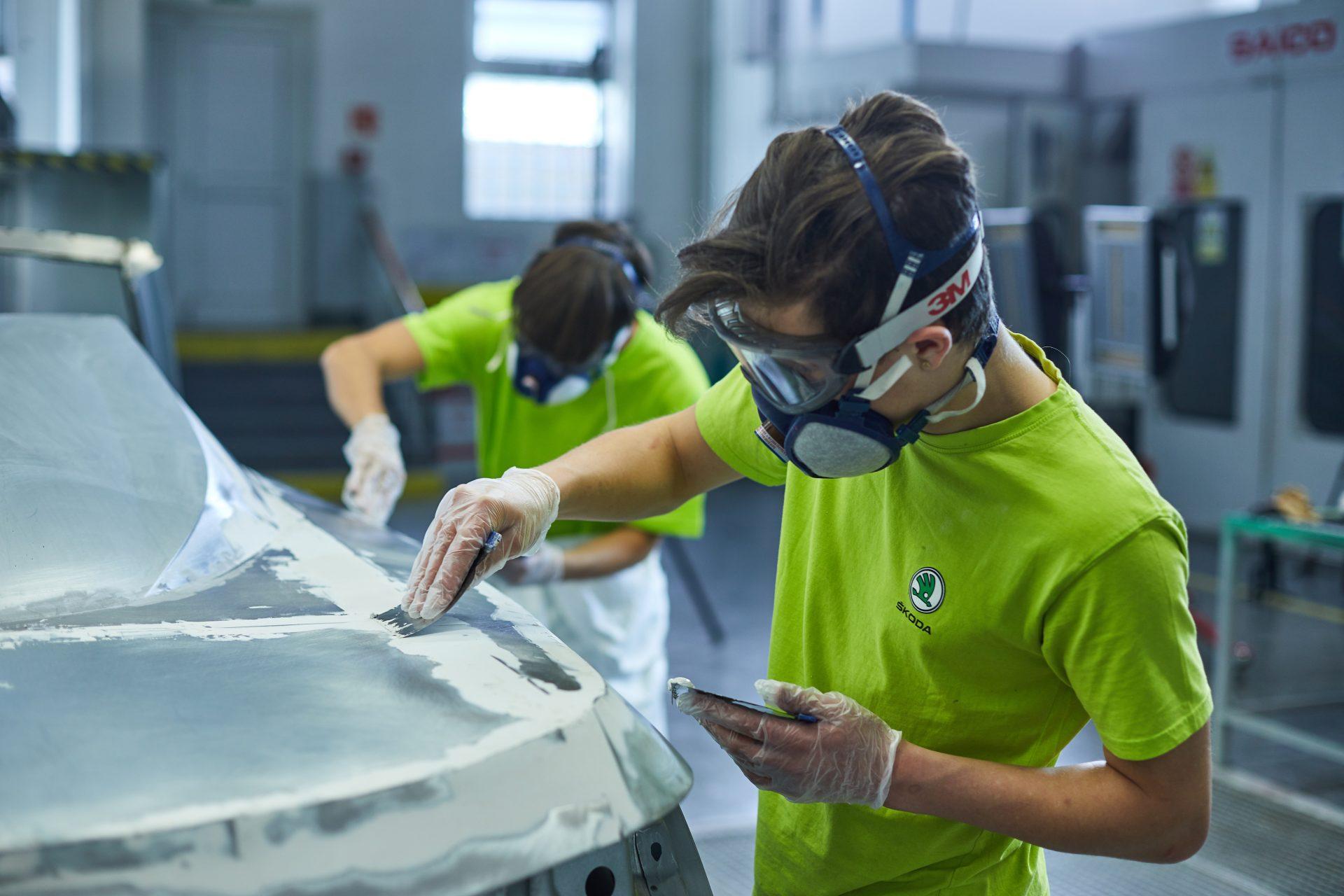 SKODA Academy concept car - Χτίζοντας το με το χέρι