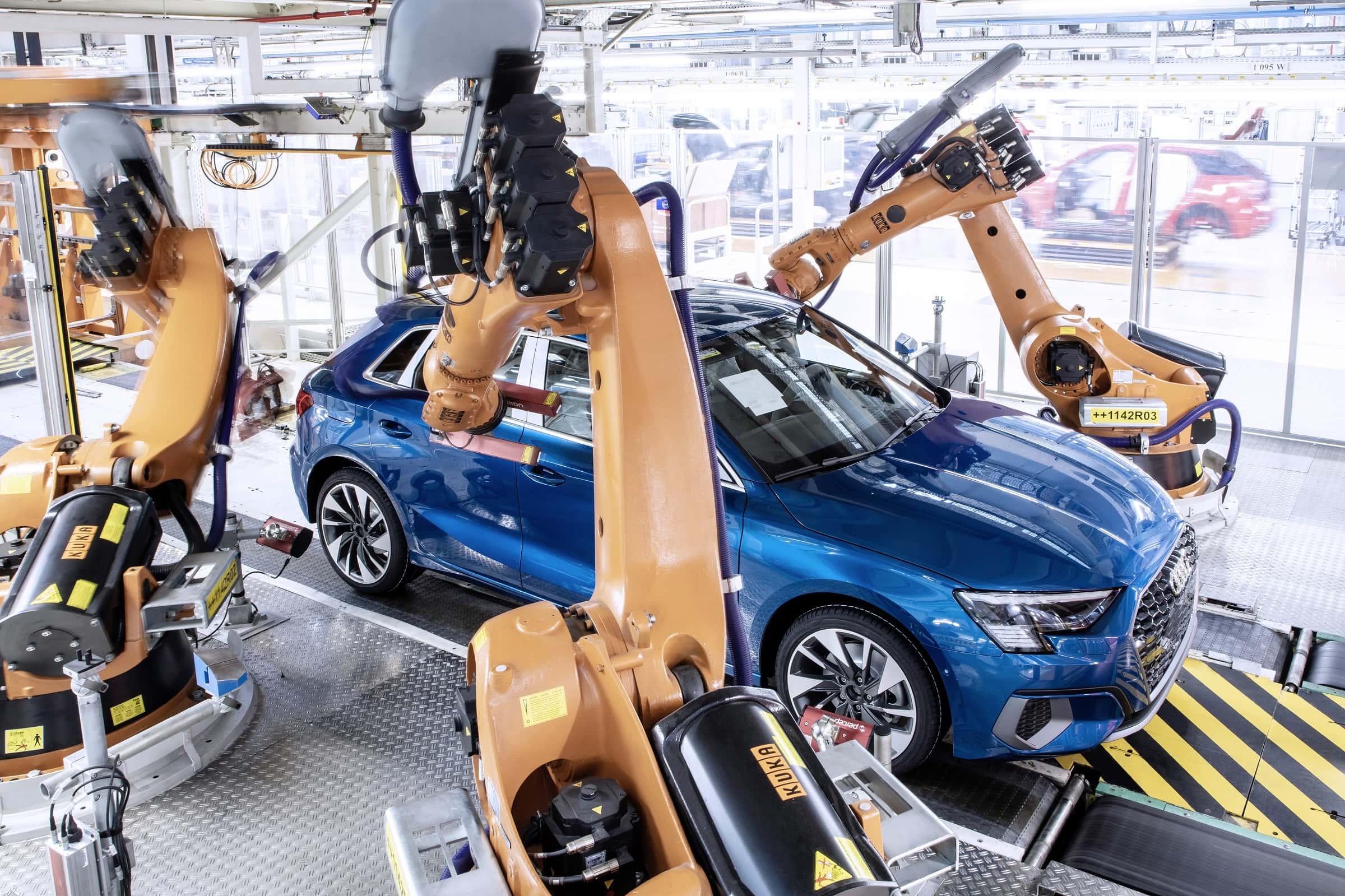 Νέο Audi A3 - Κατασκευή