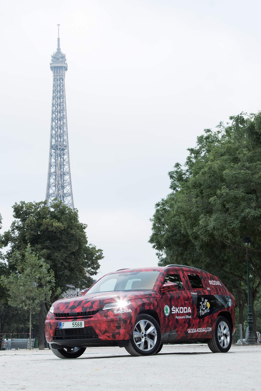 H τέχνη του καμουφλάζ - Το SKODA KODIAQ στο TOUR DE FRANCE