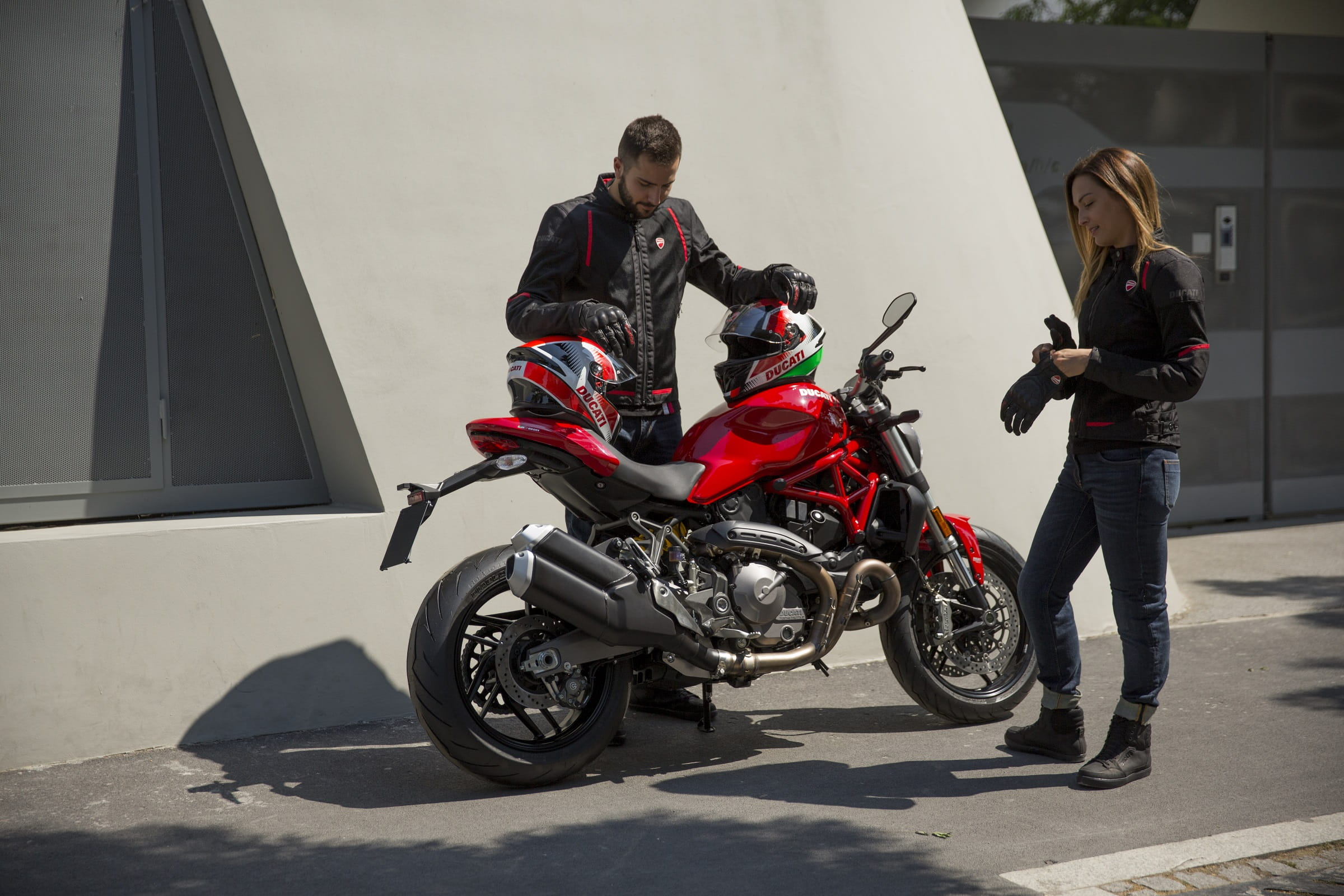 Ducati Flow C3 υφασμάτινα μπουφάν