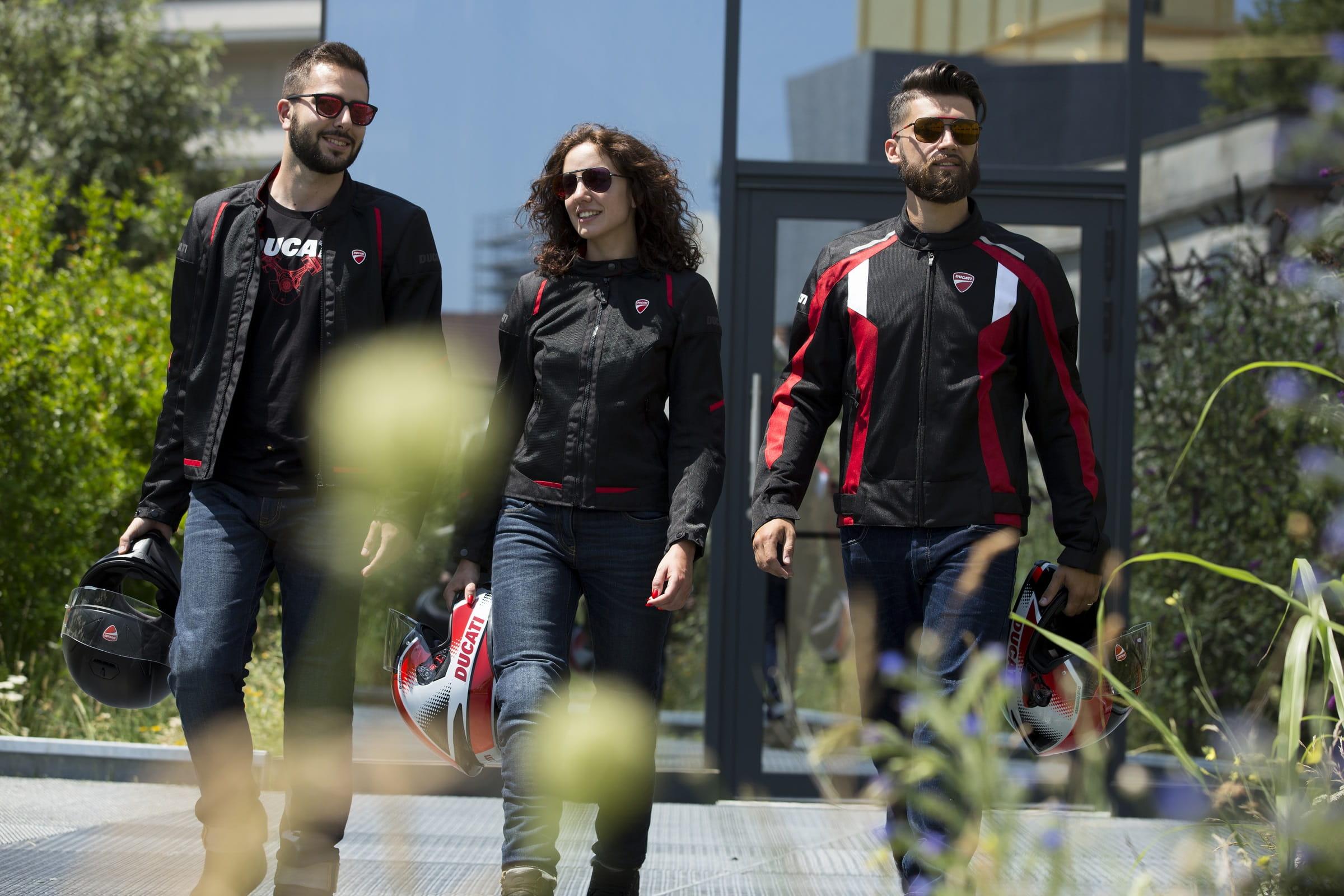 Ducati Flow C3 και Speed 3 υφασμάτινα μπουφάν