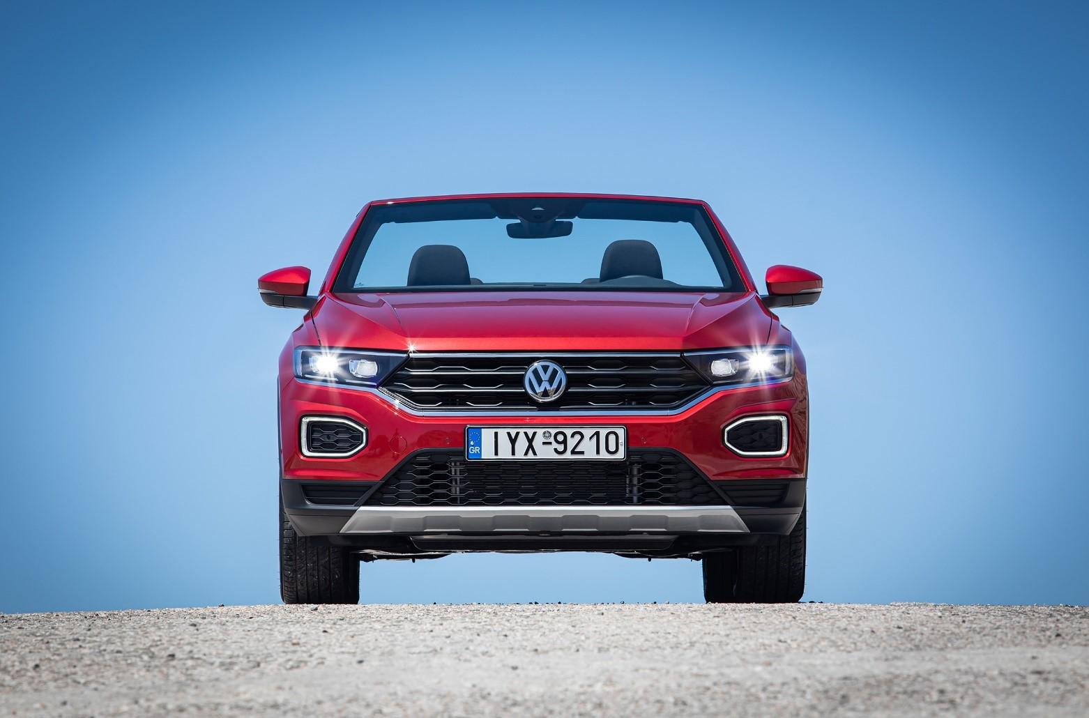 To νέο Volkswagen T-Roc Cabriolet - Εμπρός όψη