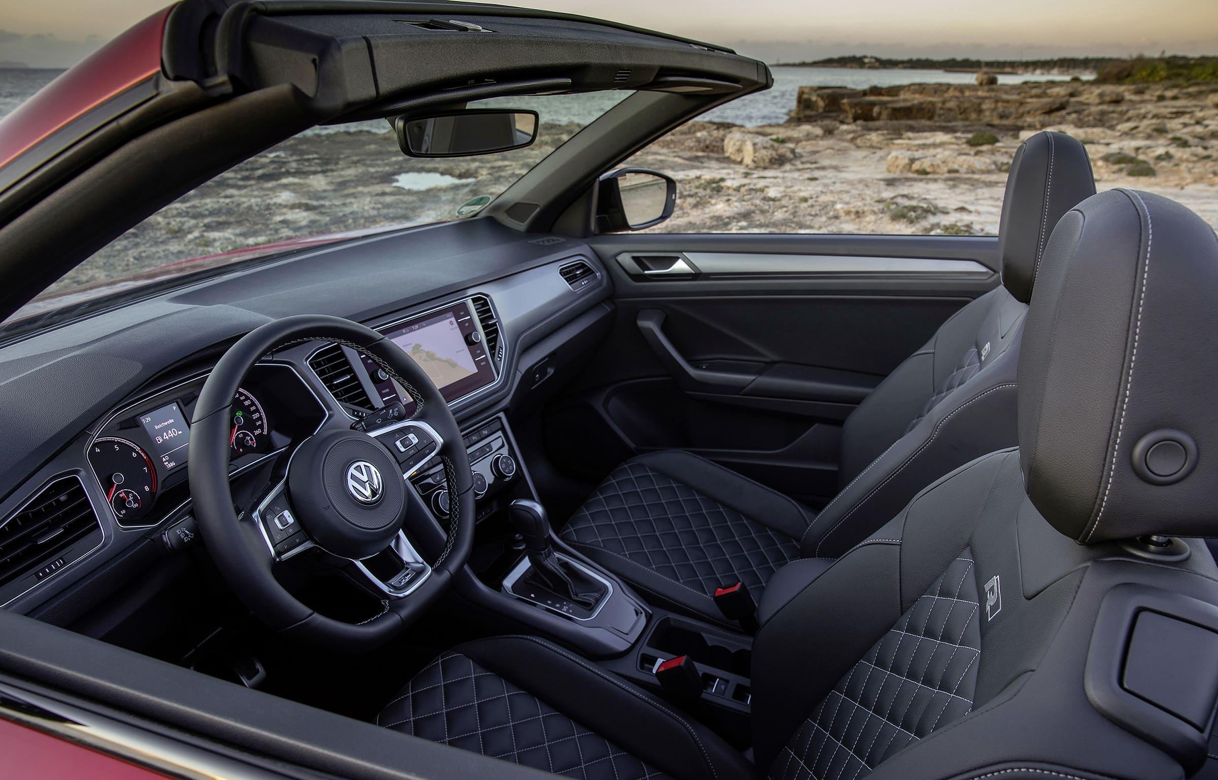 To νέο Volkswagen T-Roc Cabriolet - Εσωτερικό