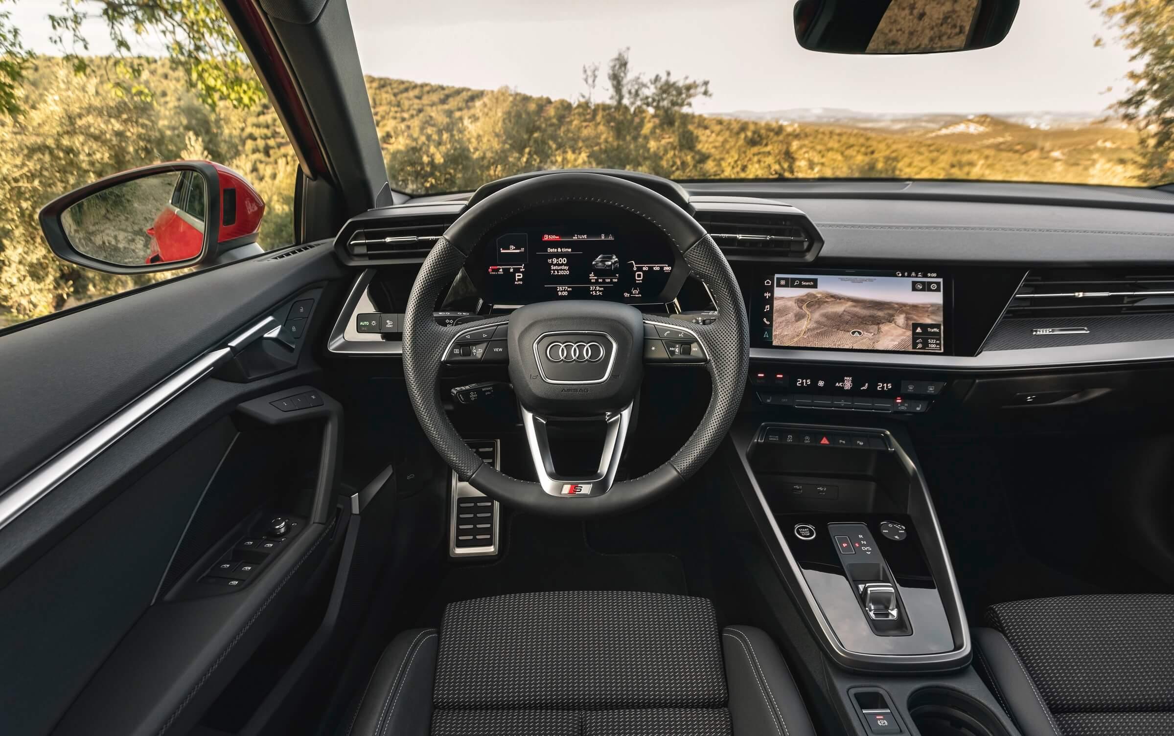 Νέο Audi A3 Sportback - Εσωτερικό